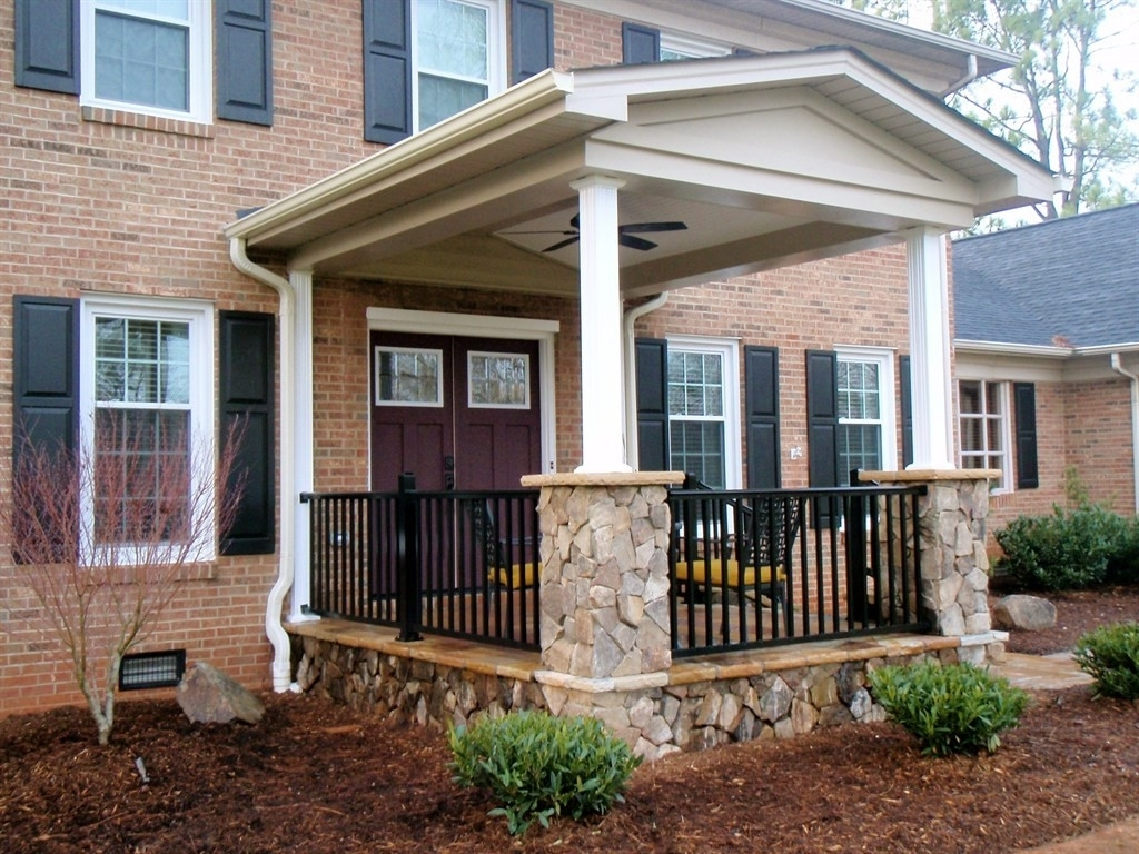 Terrace Front Porch Ideas For Small Houses Randolph Indoor And