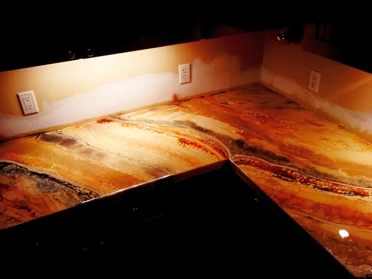 Superbe Epoxy Resin Countertops Home Depot