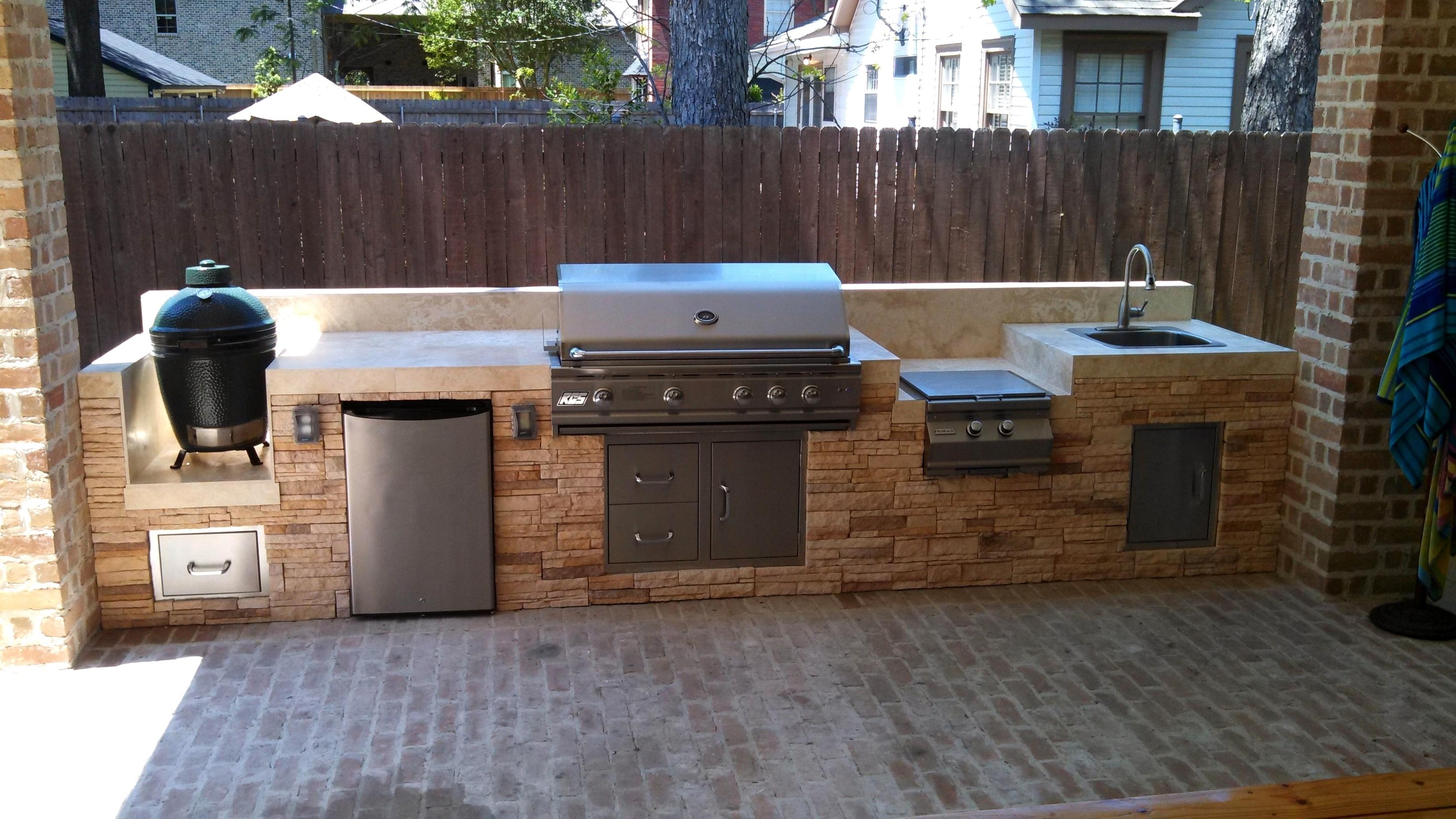 Extraordinary Green Egg Built In Outdoor Kitchen & Green Egg Built In Outdoor Kitchen Ideas u2014 Randolph Indoor and ...