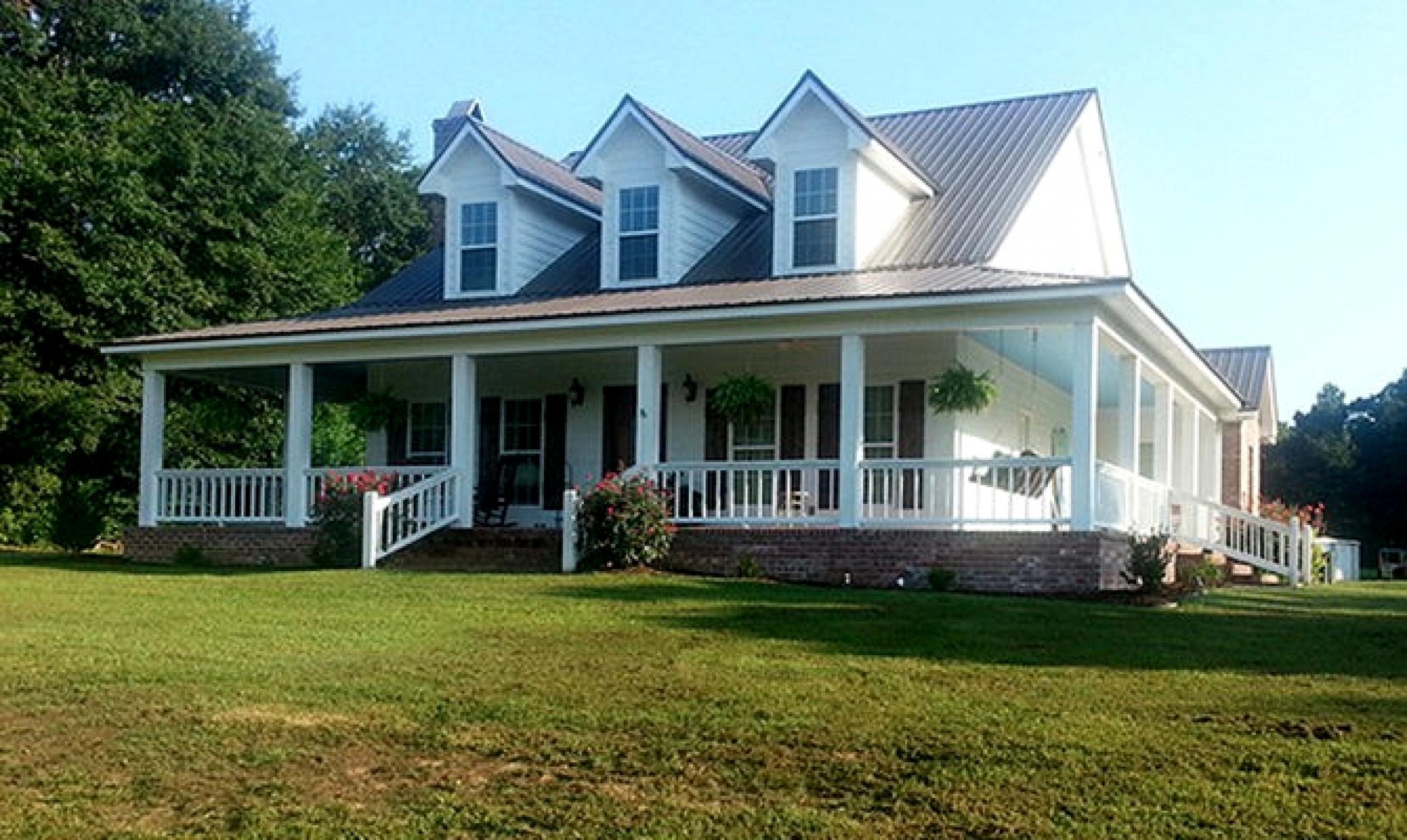 Farmhouse Floor Plans Wrap Around Porch Randolph Indoor And Outdoor Design