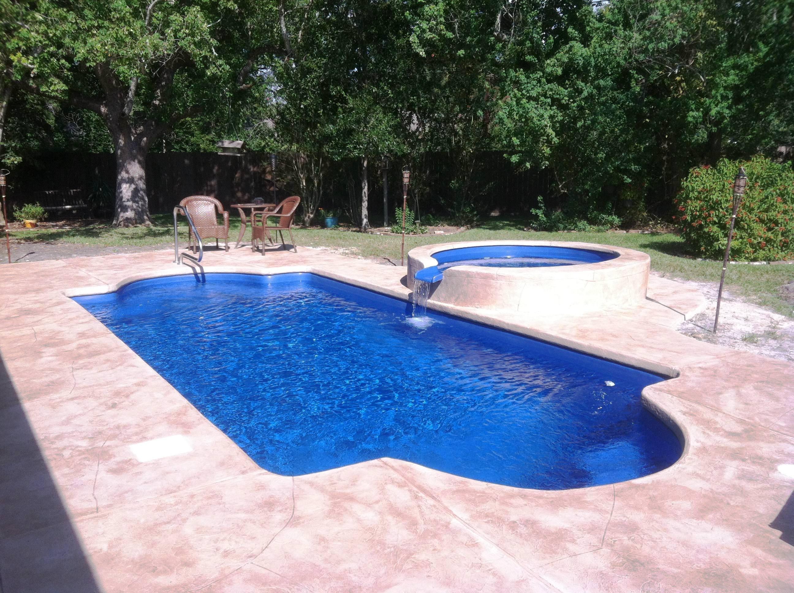 Fiberglass Semi Inground Pool Kits — Randolph Indoor and Outdoor Design