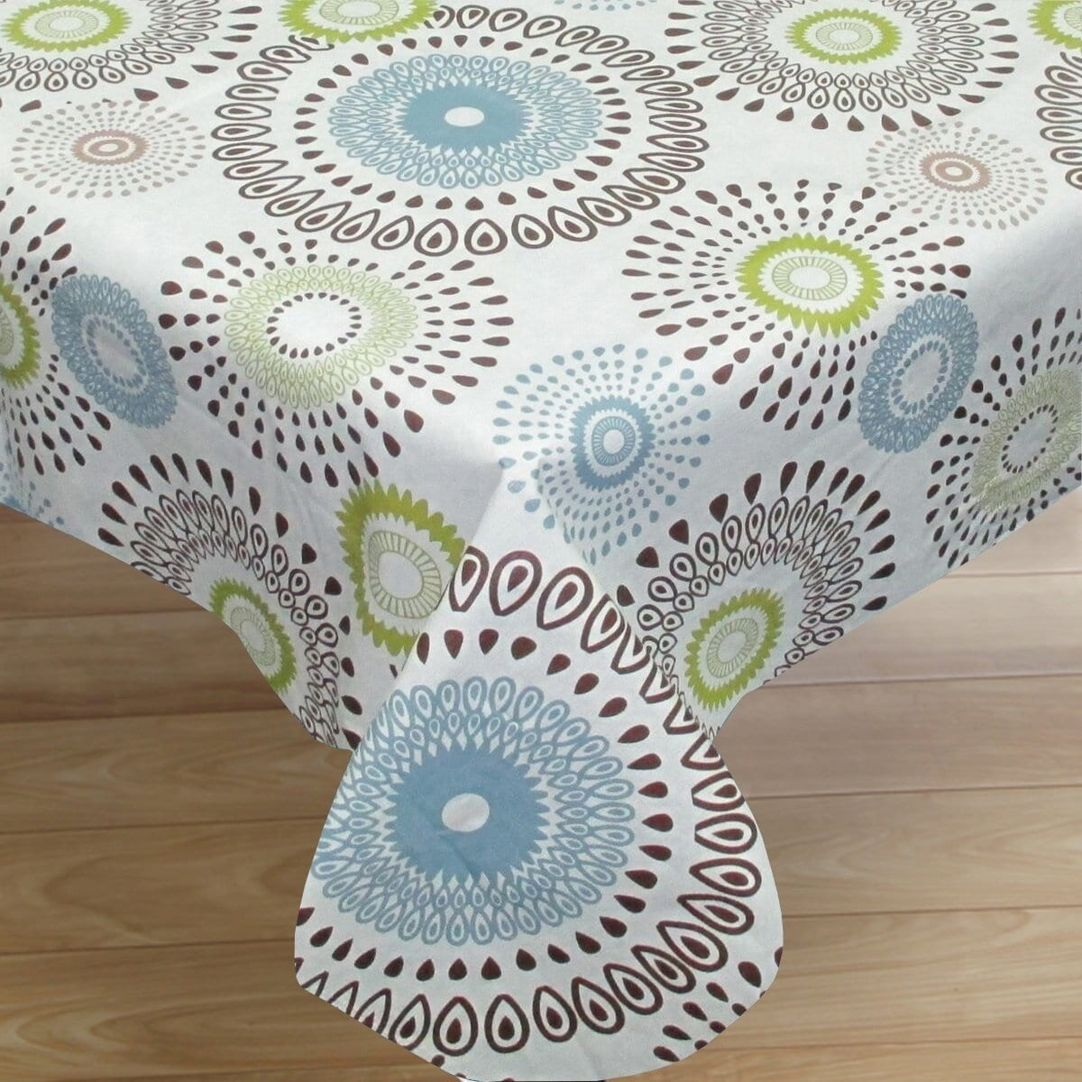 Flannel Backed Vinyl Tablecloth Fall Randolph Indoor And Outdoor Design