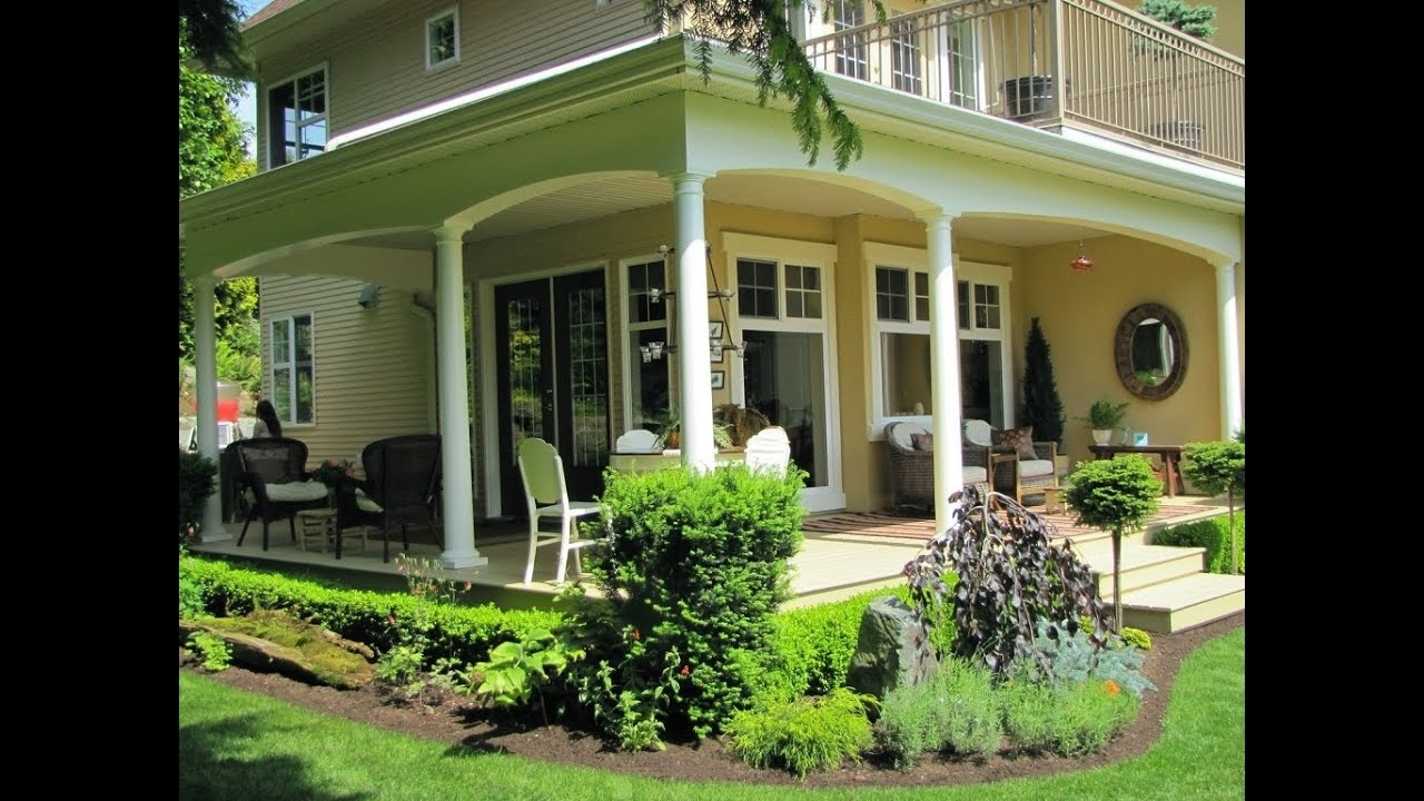 Front Porch Deck Ideas For Small Houses