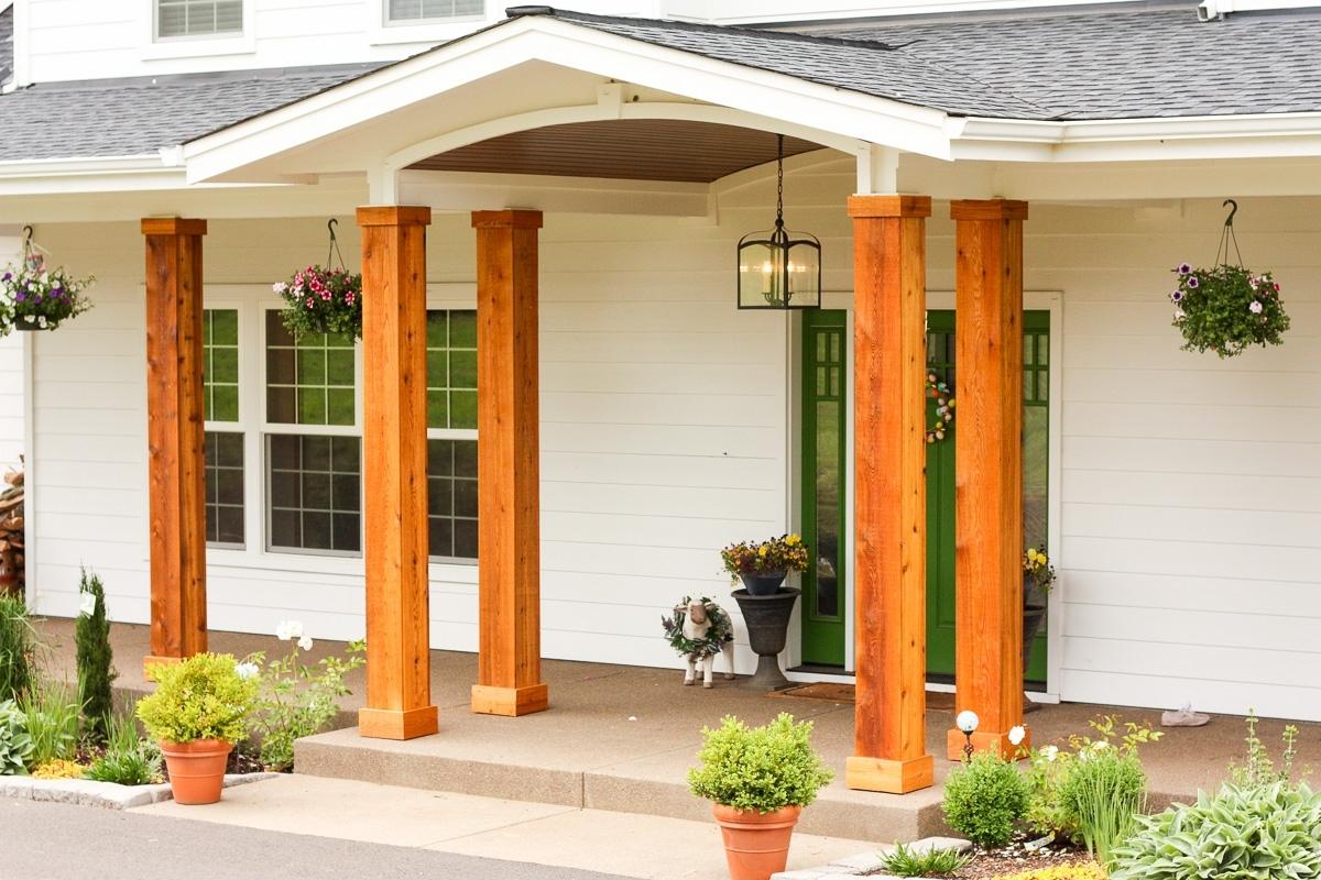Front Porch Pillars Posts Randolph Indoor And Outdoor Design