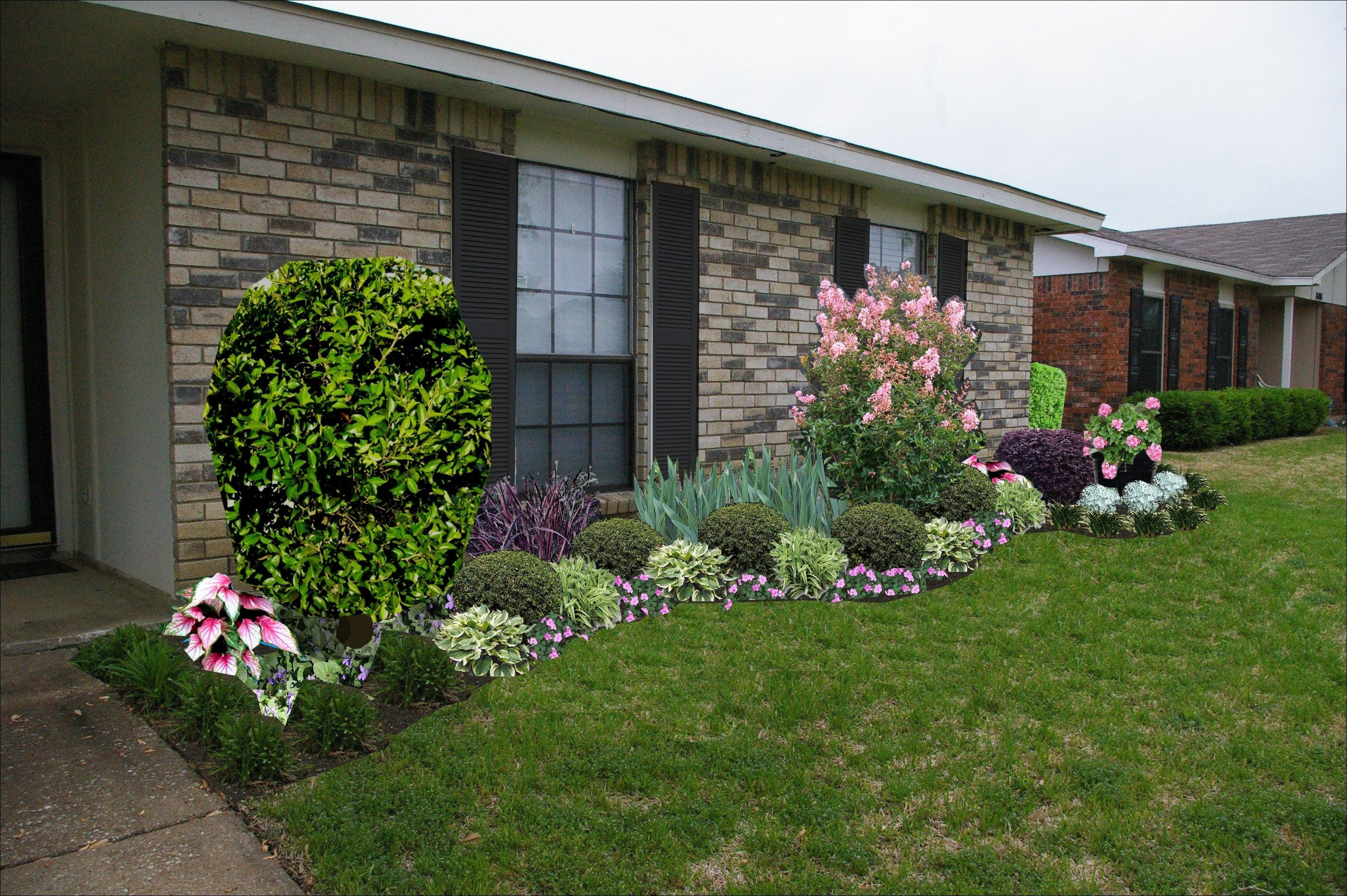 Front Yard Landscaping Ideas For Ranch Style Homes Pictures
