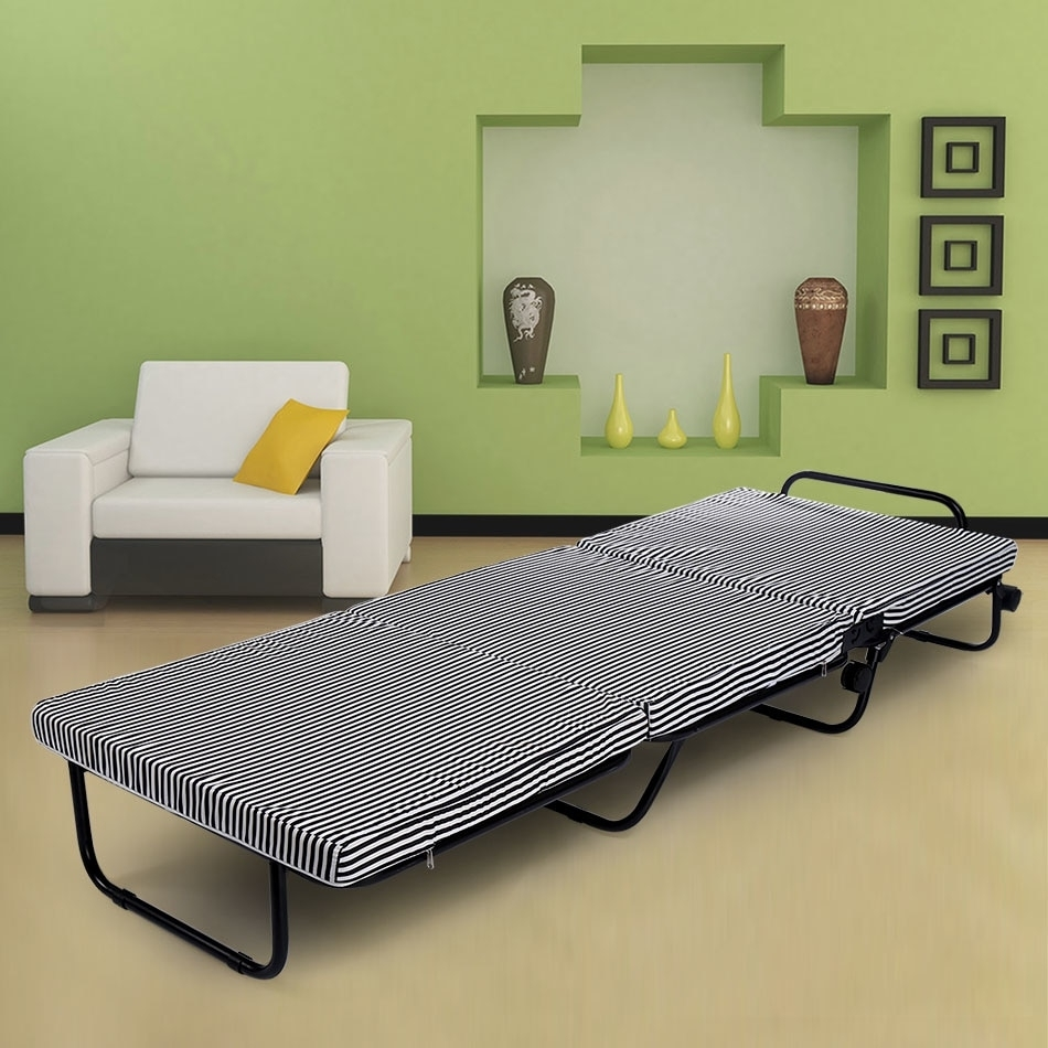 Gray Shikibuton Trifold Foam Bed