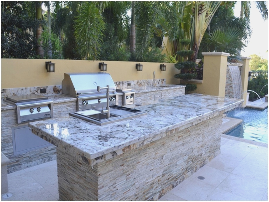 Great Outdoor Kitchen Granite Countertops — Randolph Indoor ...