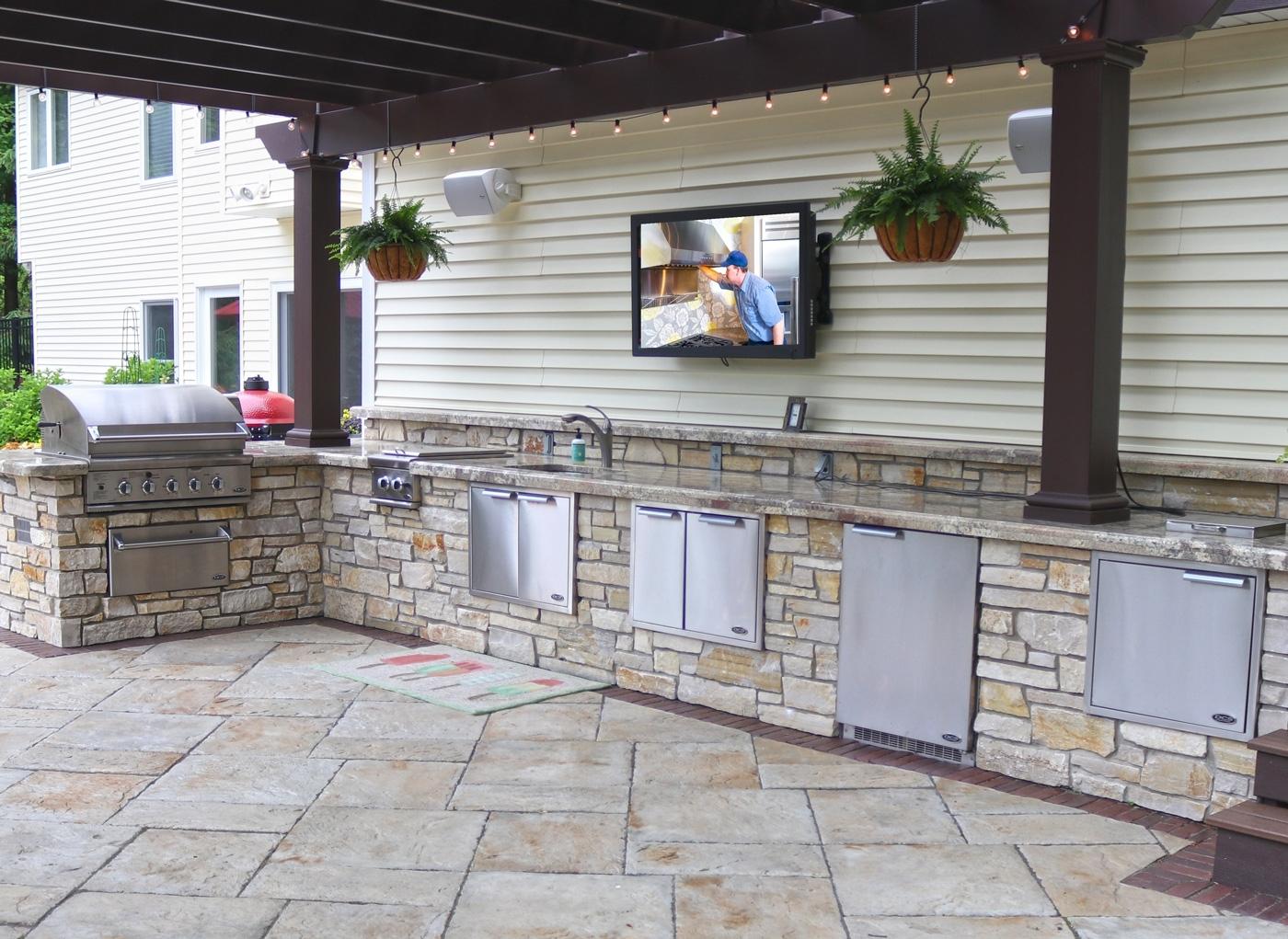 High Quality Outdoor Kitchen Beverage Center