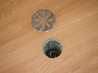Cast Iron Basement Floor Drain Cover, Vinyl Plank Flooring Basement Drain