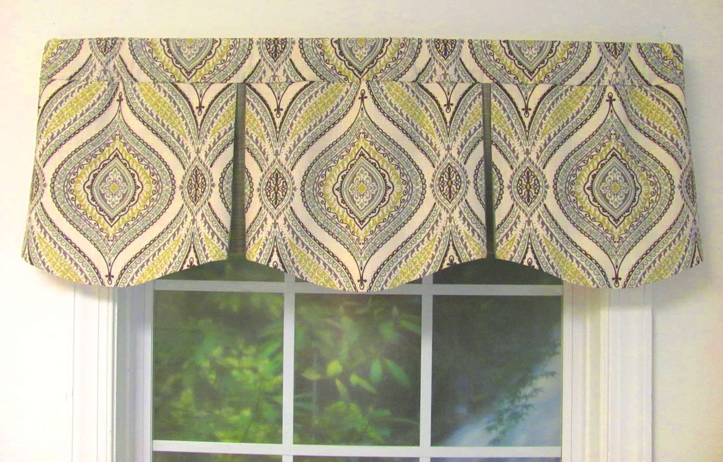 How To Make A Pleated Valance