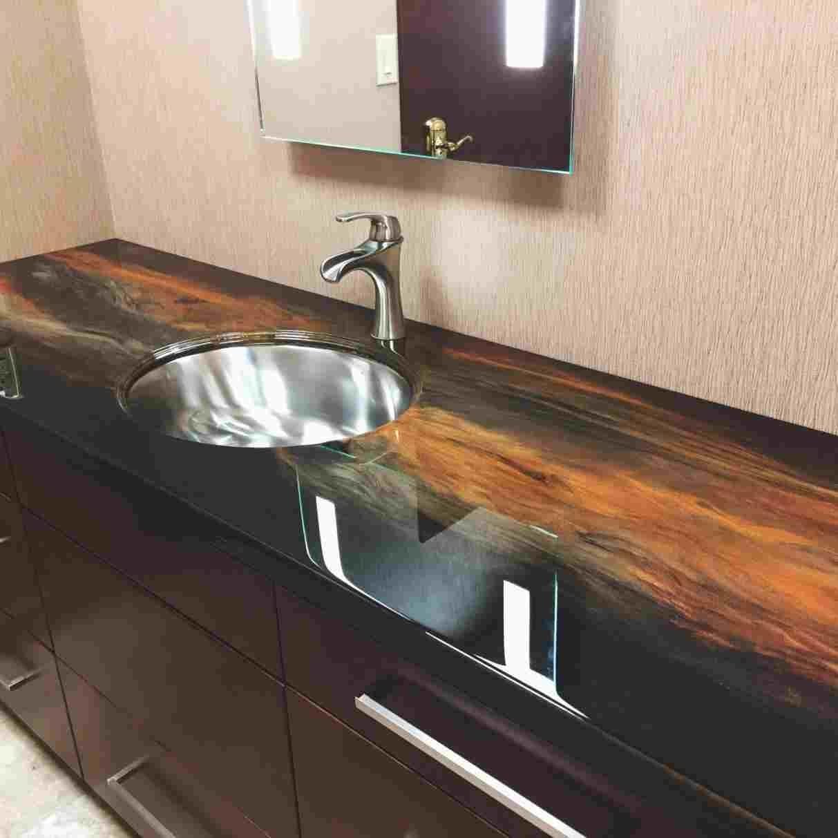 Polishing Epoxy Resin Countertops — Randolph Indoor and Outdoor Design