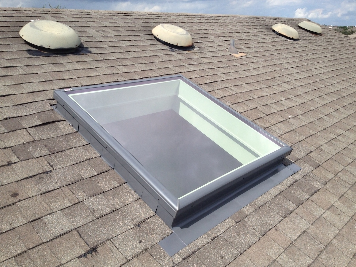 How To Replace A Curb Mounted Skylight Randolph Indoor