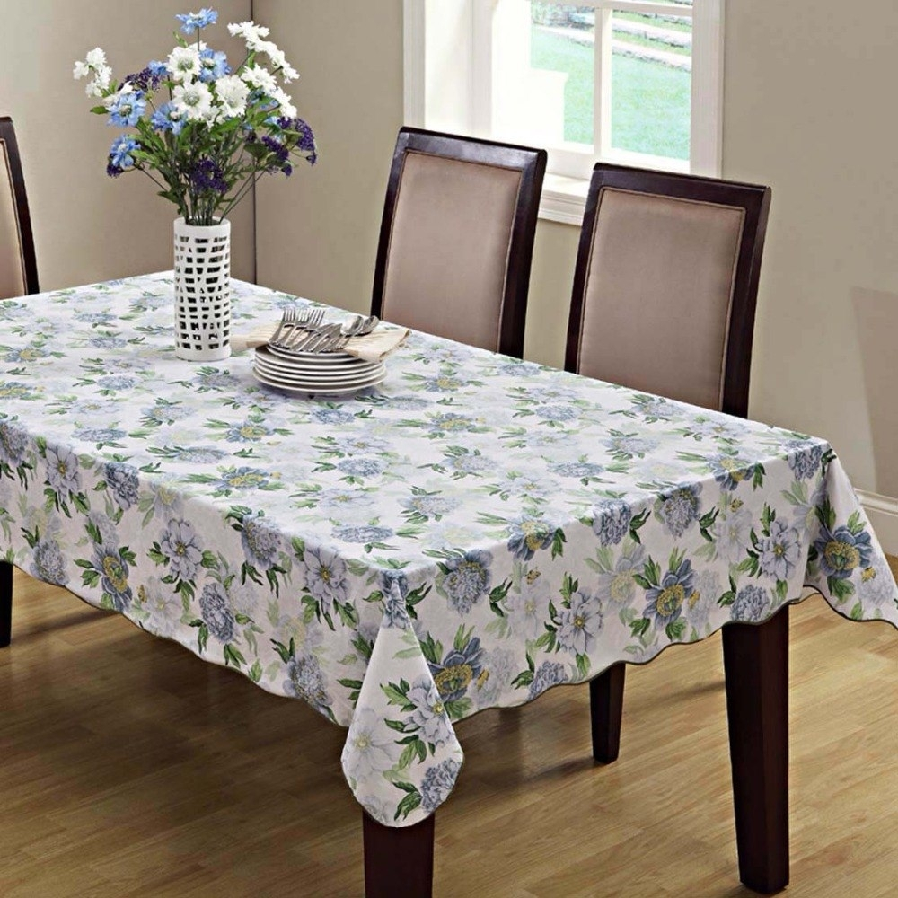 Carnation Home Fashions Vinyl Flannel Backed Tablecloth ...