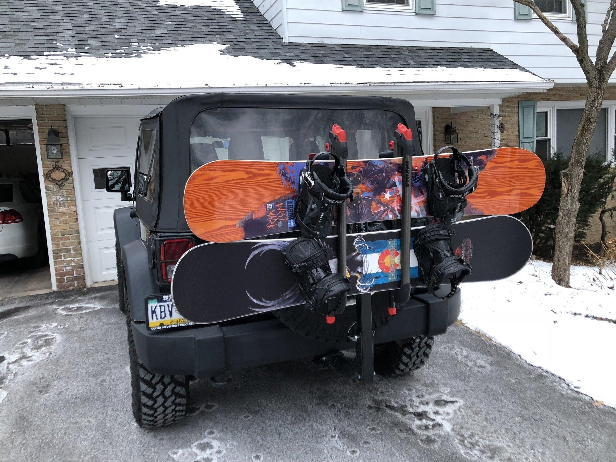 Jeep Snowboard Rack Randolph Indoor And Outdoor Design
