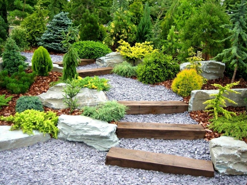 Landscape Ideas For Hillside Backyard Randolph Indoor And