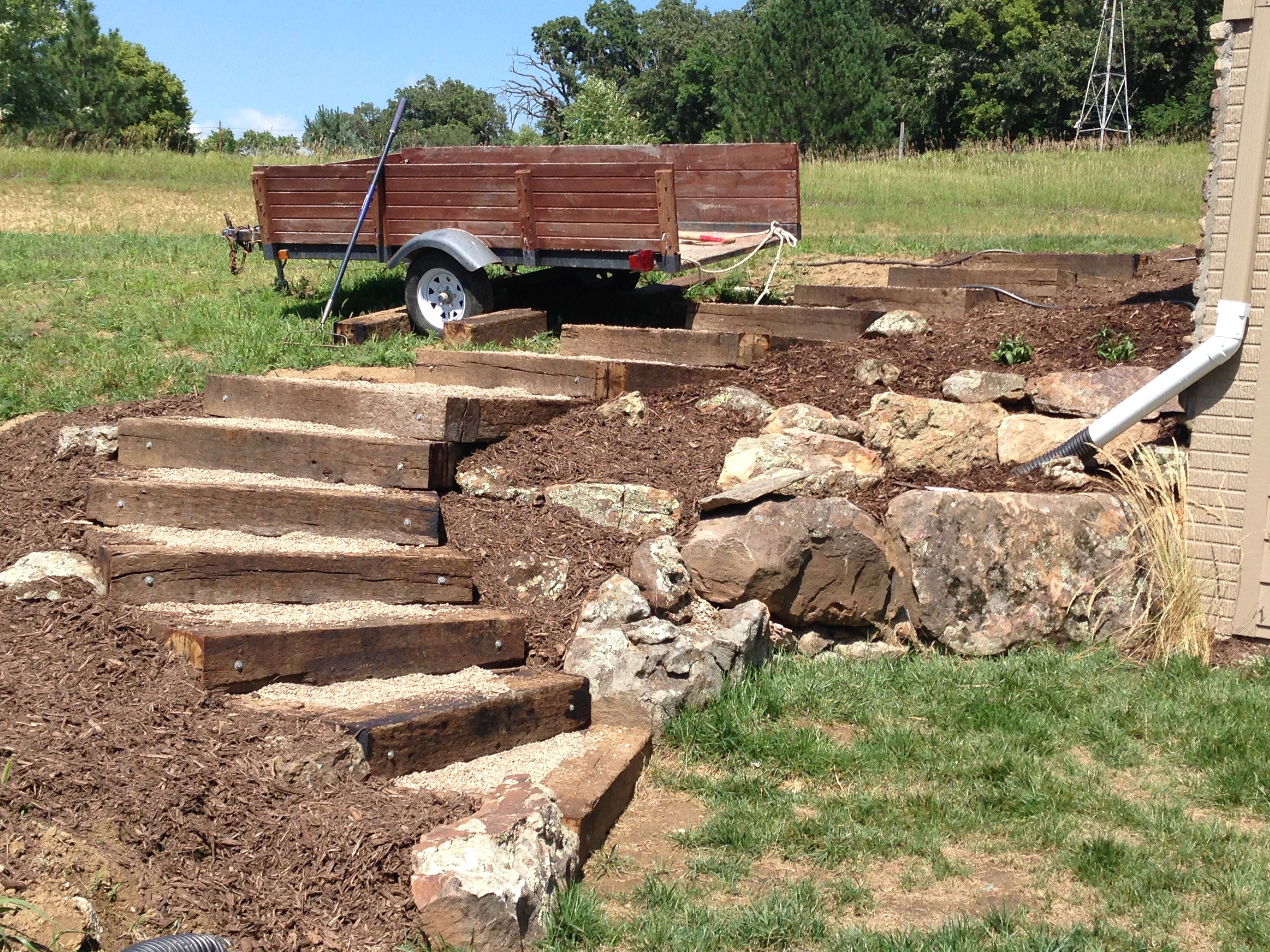 Landscape Grade Railroad Ties — Randolph Indoor and Outdoor