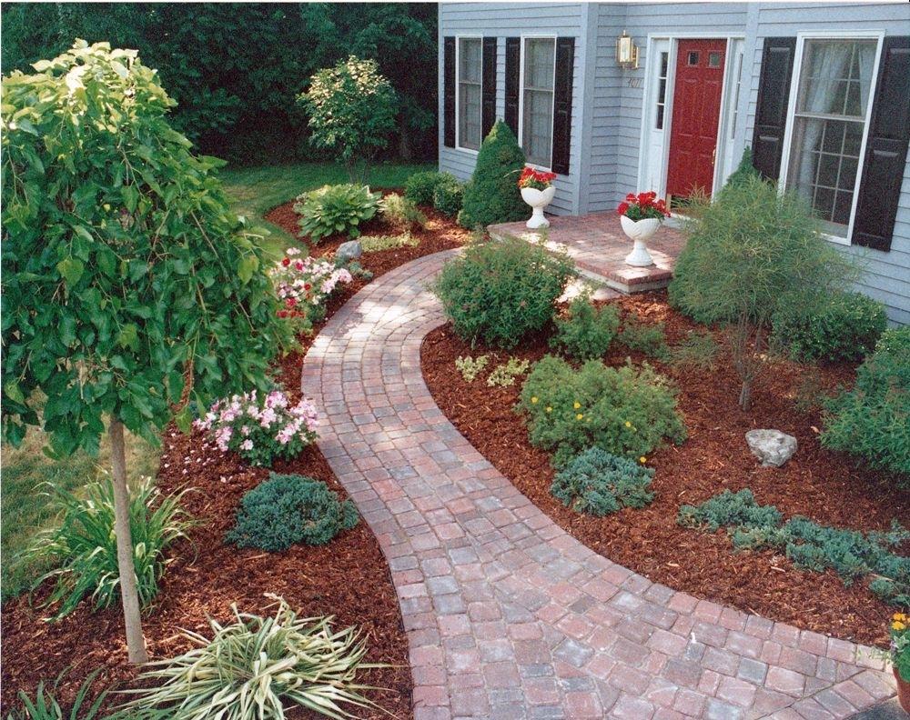 Landscaping Ideas Around Front Porch And Sidewalk Randolph