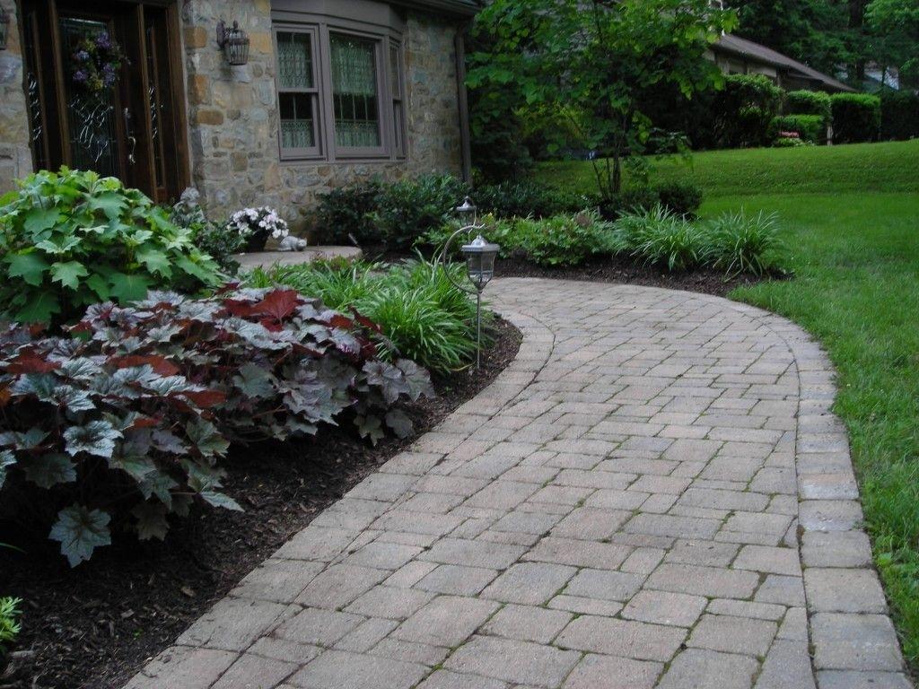 Front Yard Bridge Sidewalk Landscaping Ideas Randolph Indoor And