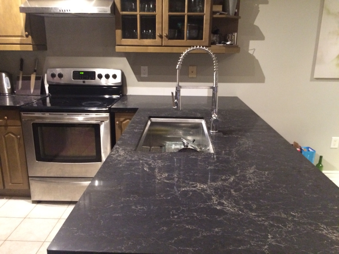 Leathered Belvedere Granite Countertops