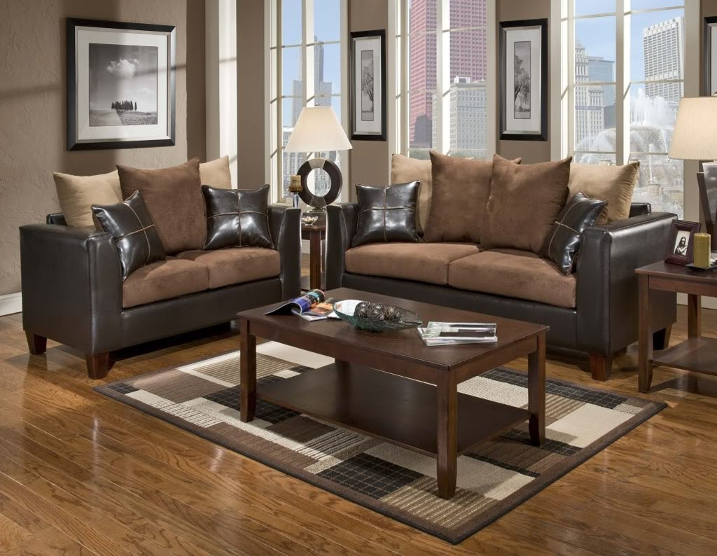 Living Room Decor Brown Couch — Randolph Indoor and Outdoor ...