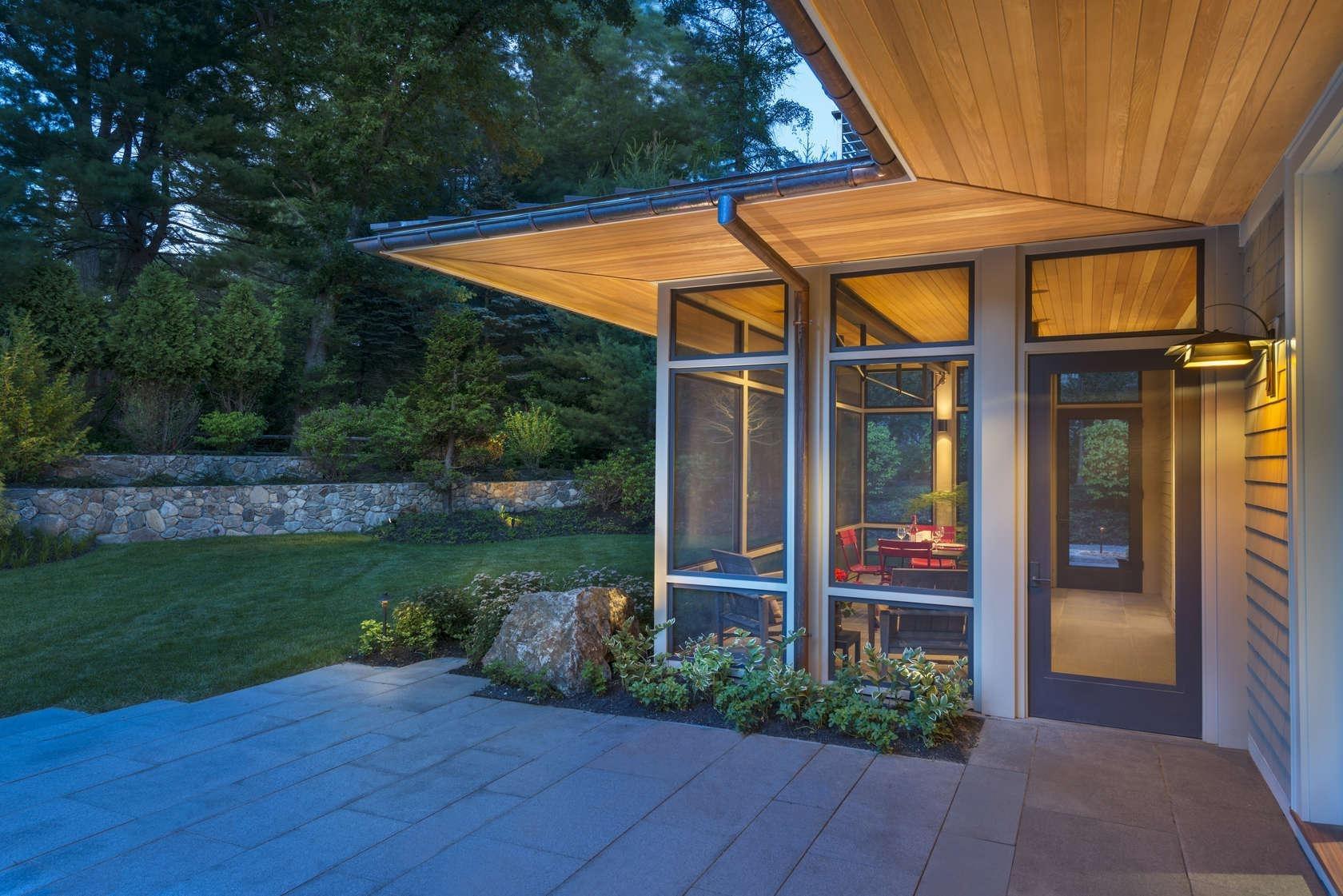 Modern Screened Porch Ideas — Randolph Indoor and Outdoor Design