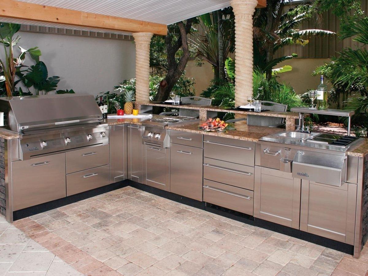 Modular Eldorado Stone Outdoor Kitchen — Randolph Indoor and ...