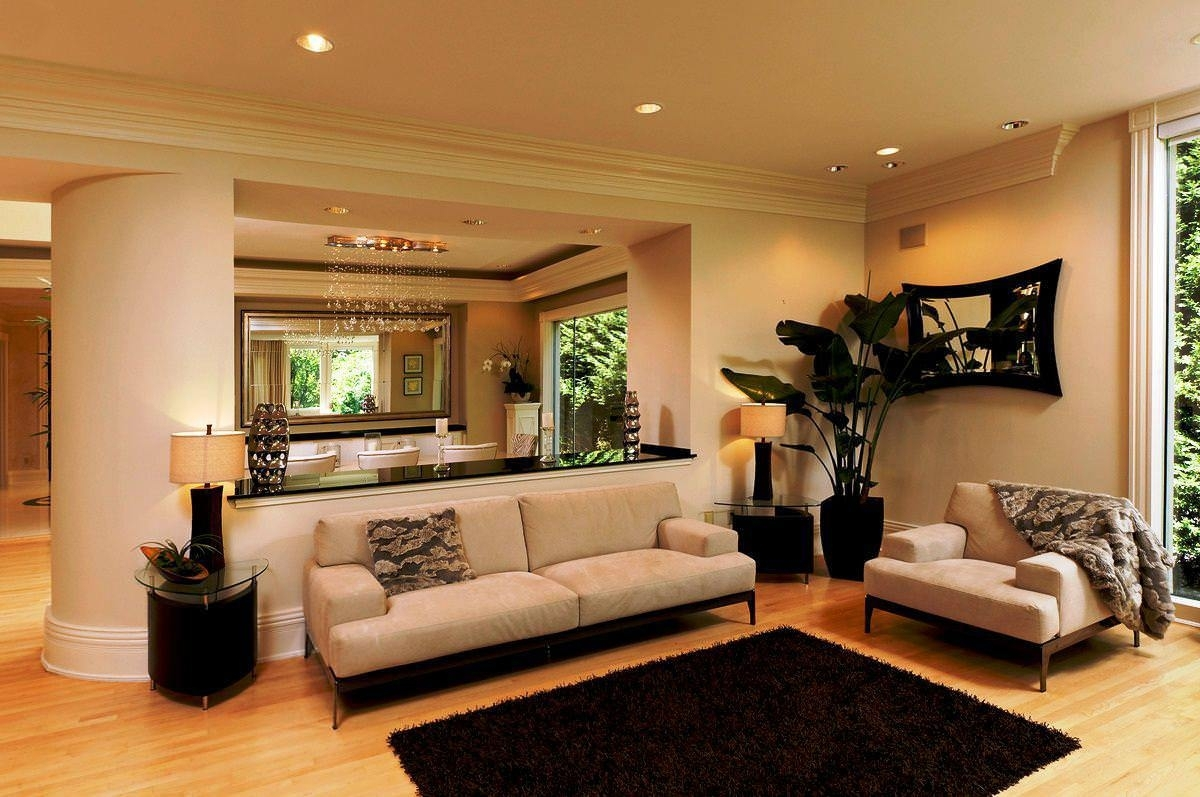 Neutral paint colors perfect for living room