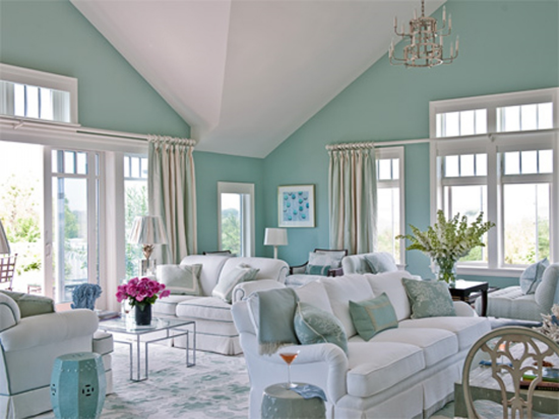 Neutral Sage Green Paint Colors For Living Room — Randolph Indoor ...
