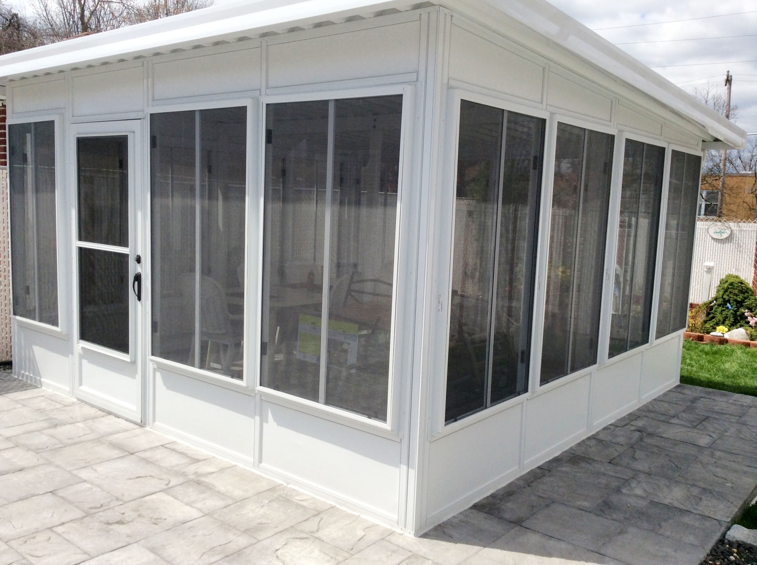 Do It Yourself Porch Vinyl Enclosures Randolph Indoor
