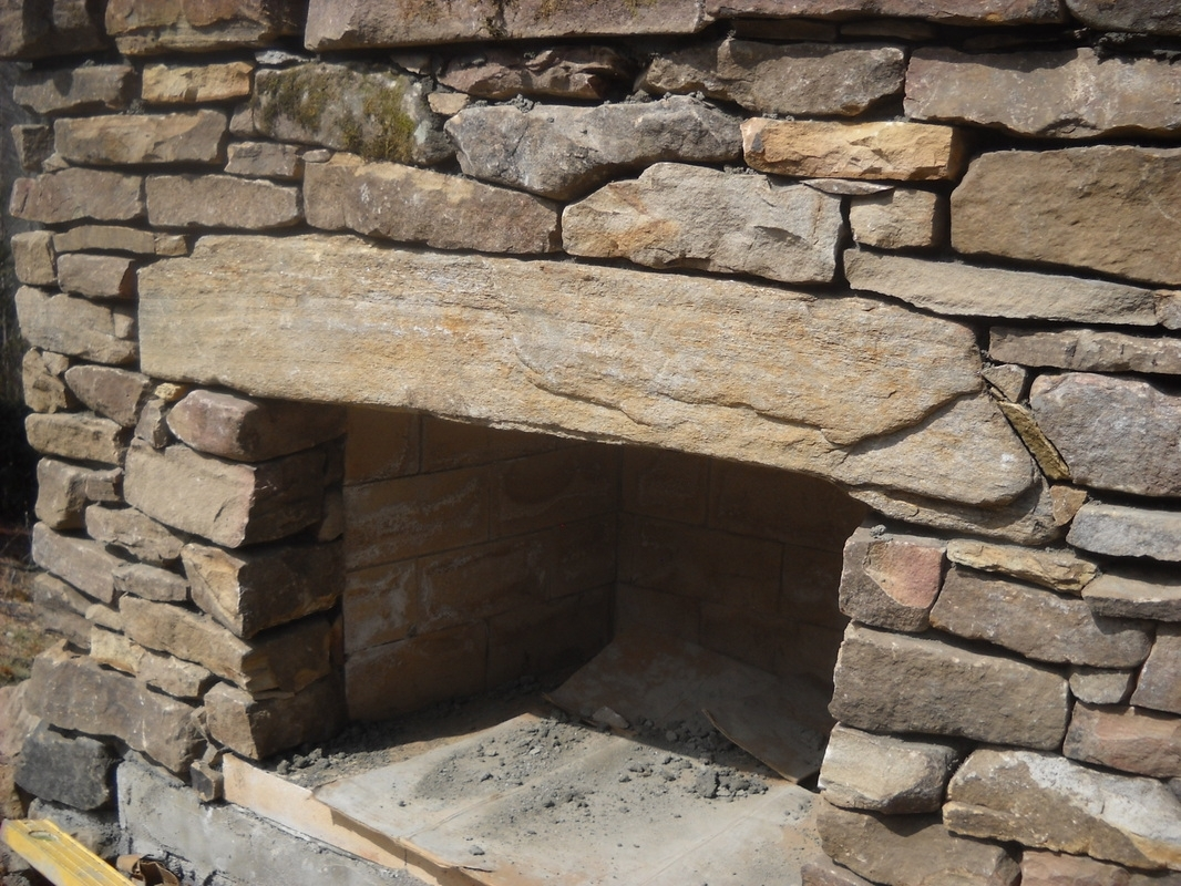 Stone For Outdoor Fireplace Ideas Randolph Indoor And