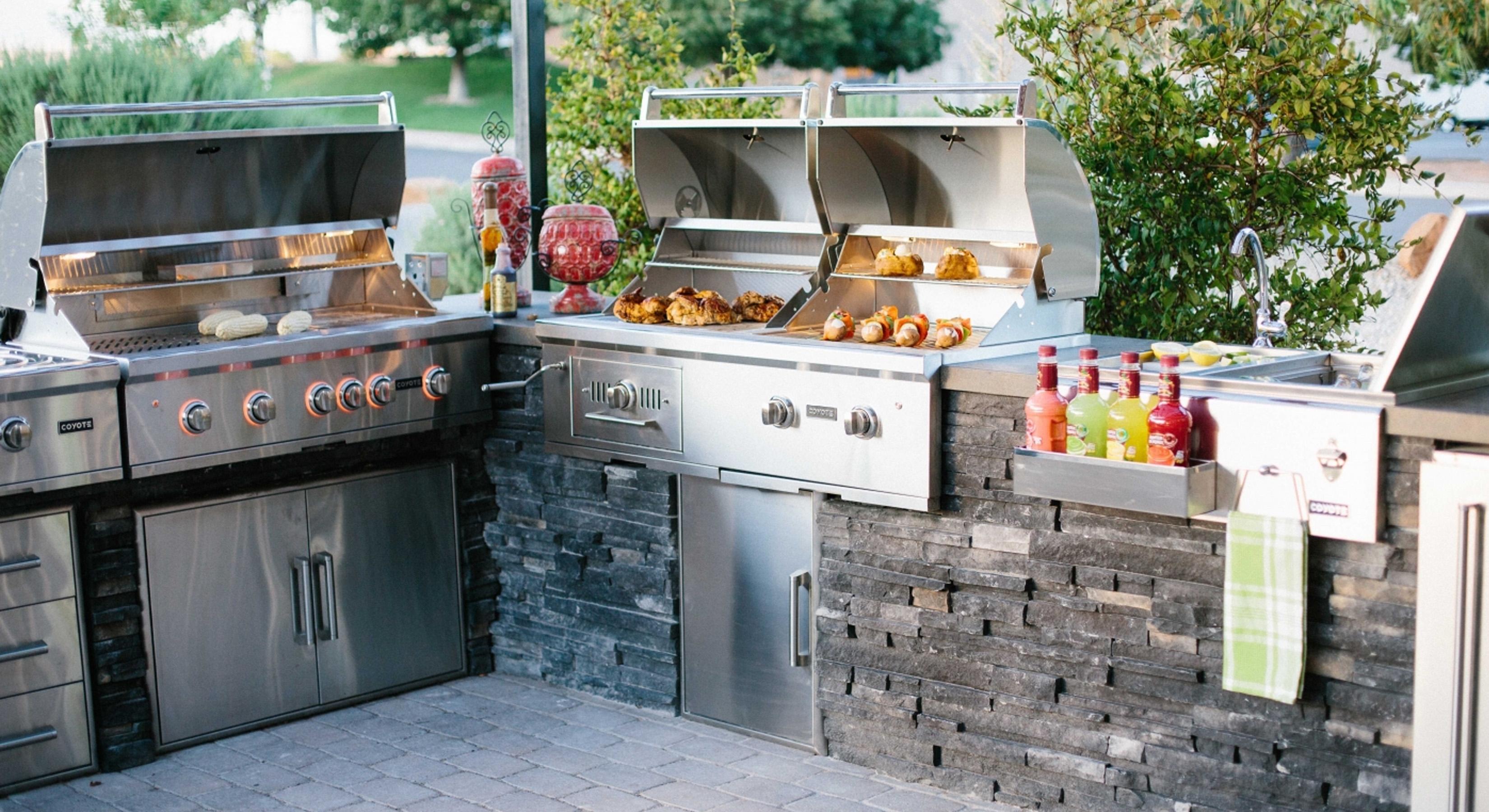 Outdoor Kitchen Beverage Center Liances