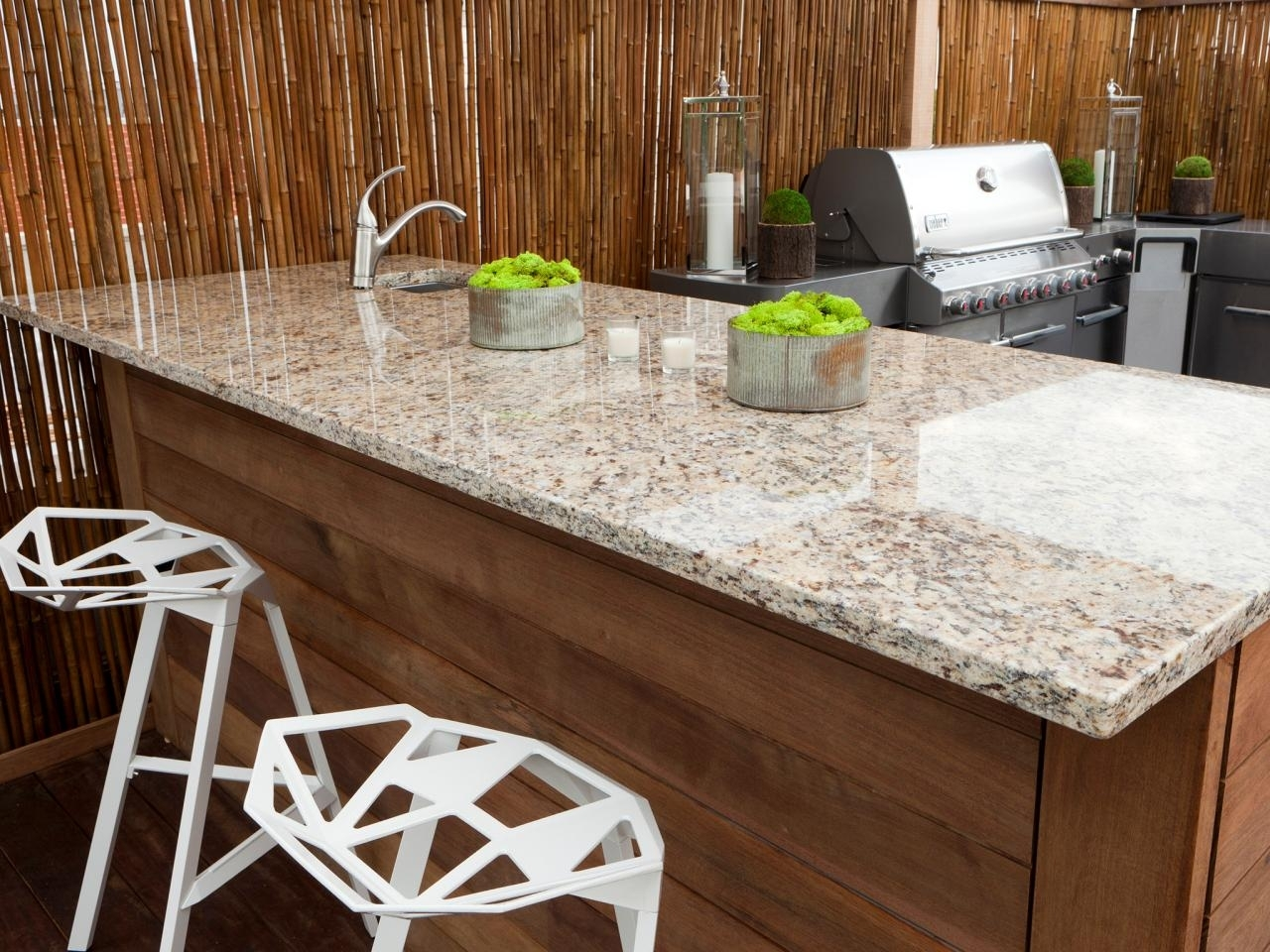 Outdoor Kitchen Granite Countertops Material — Randolph ...