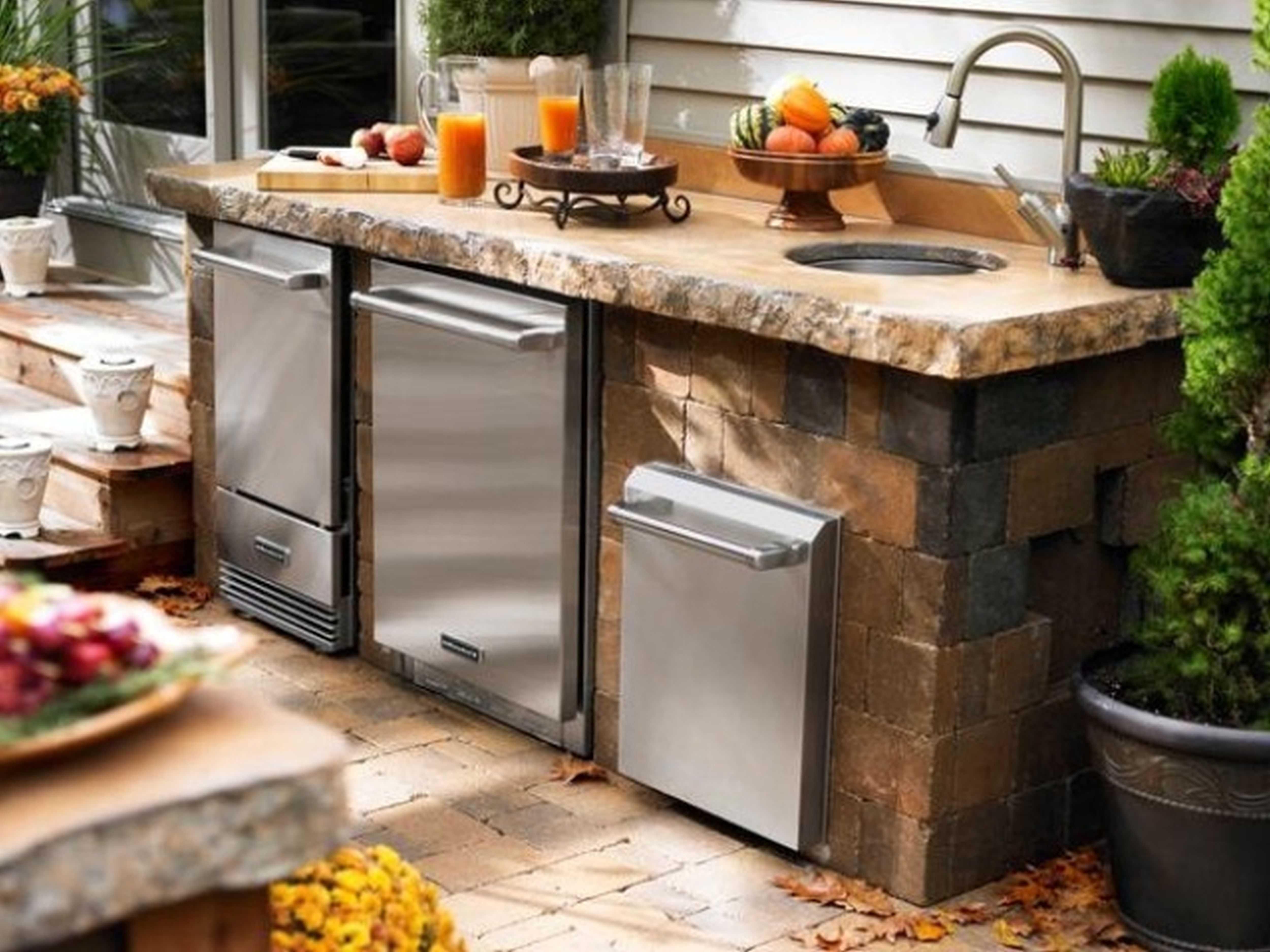 Best Outdoor Kitchen Sink Drain Idea — Randolph Indoor and ... on Outdoor Patio Sink id=25684