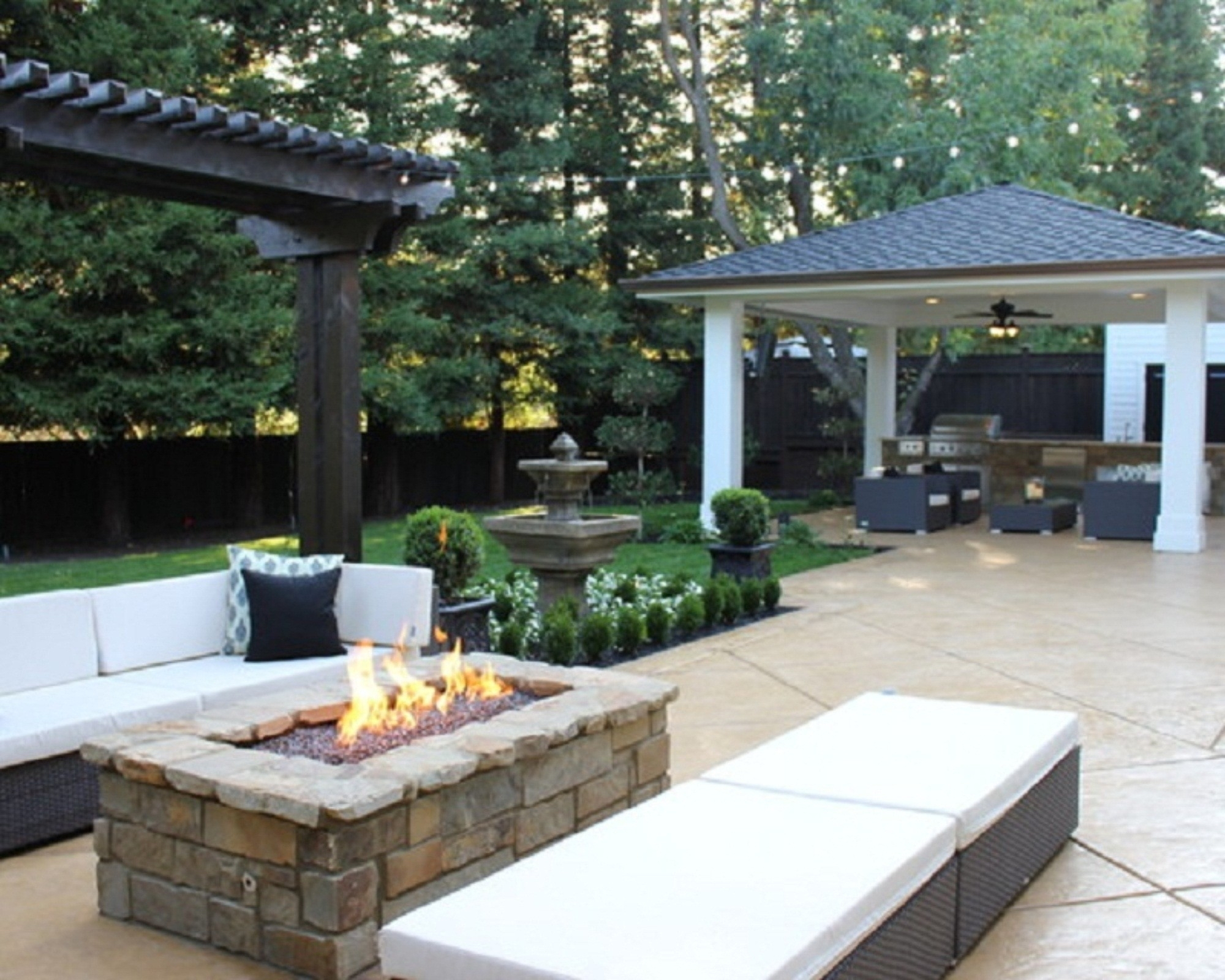 Small Inexpensive Outdoor Fireplace Randolph Indoor And Outdoor