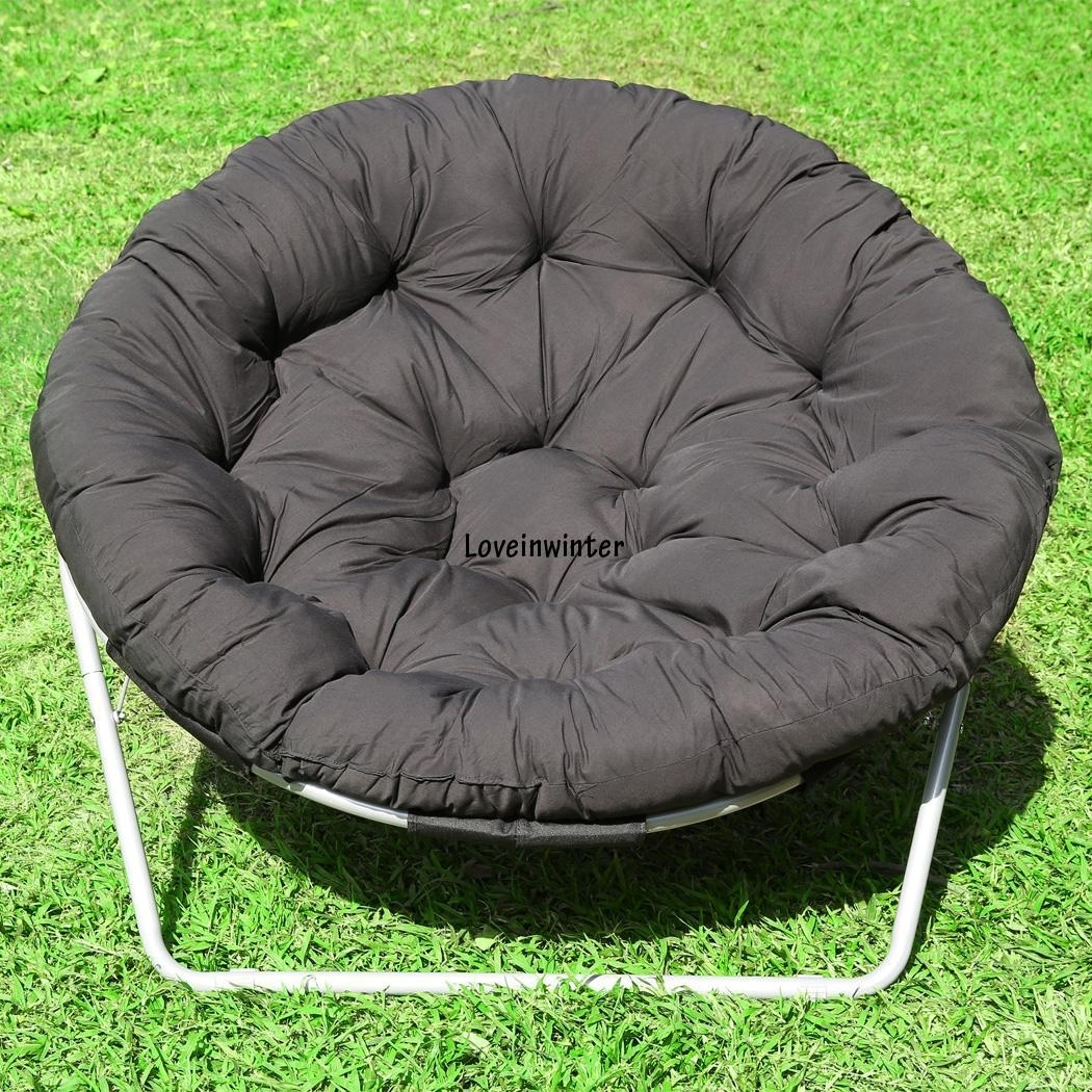 Papasan Folding Chair Outdoor