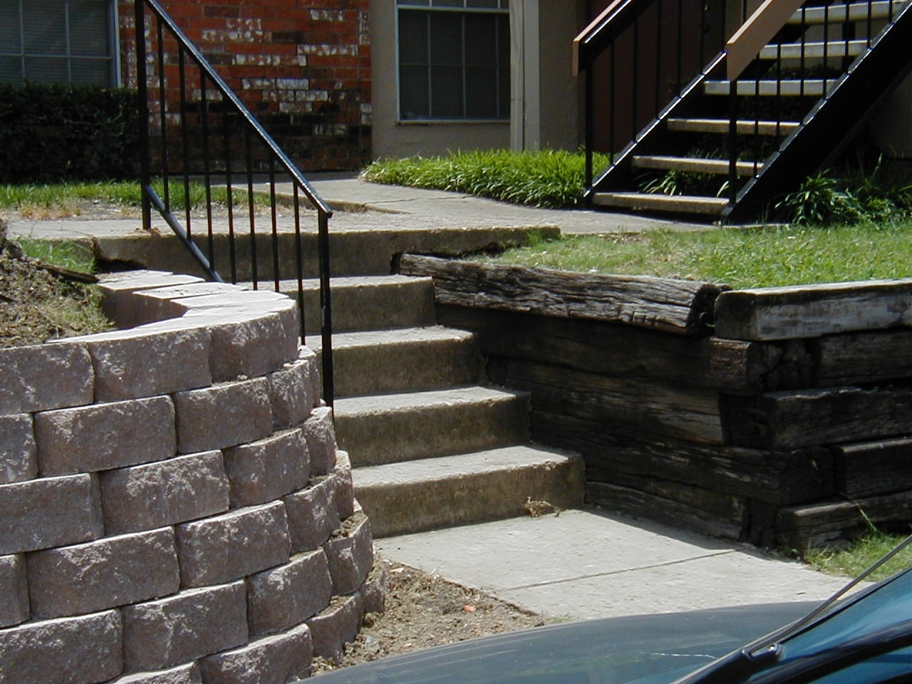 Backyard Landscape Ideas With Railroad Ties Randolph