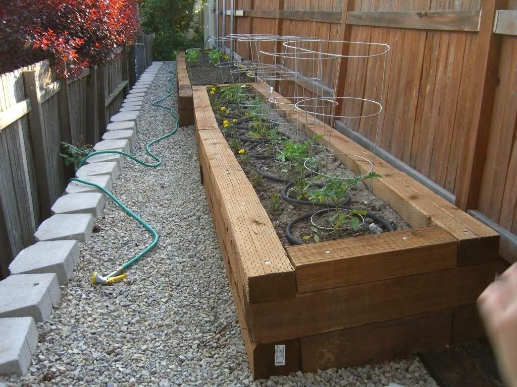 Railroad Ties Vs Landscape Timbers Randolph Indoor And Outdoor Design