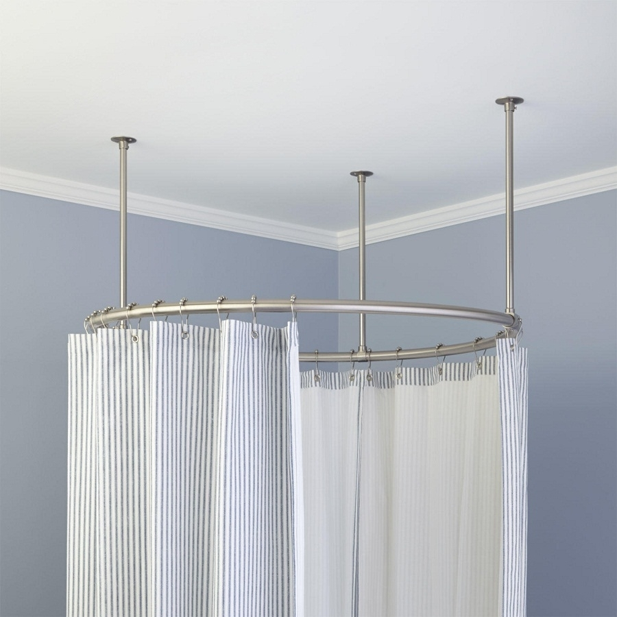 Round Bendable Curtain Rod Randolph Indoor And Outdoor