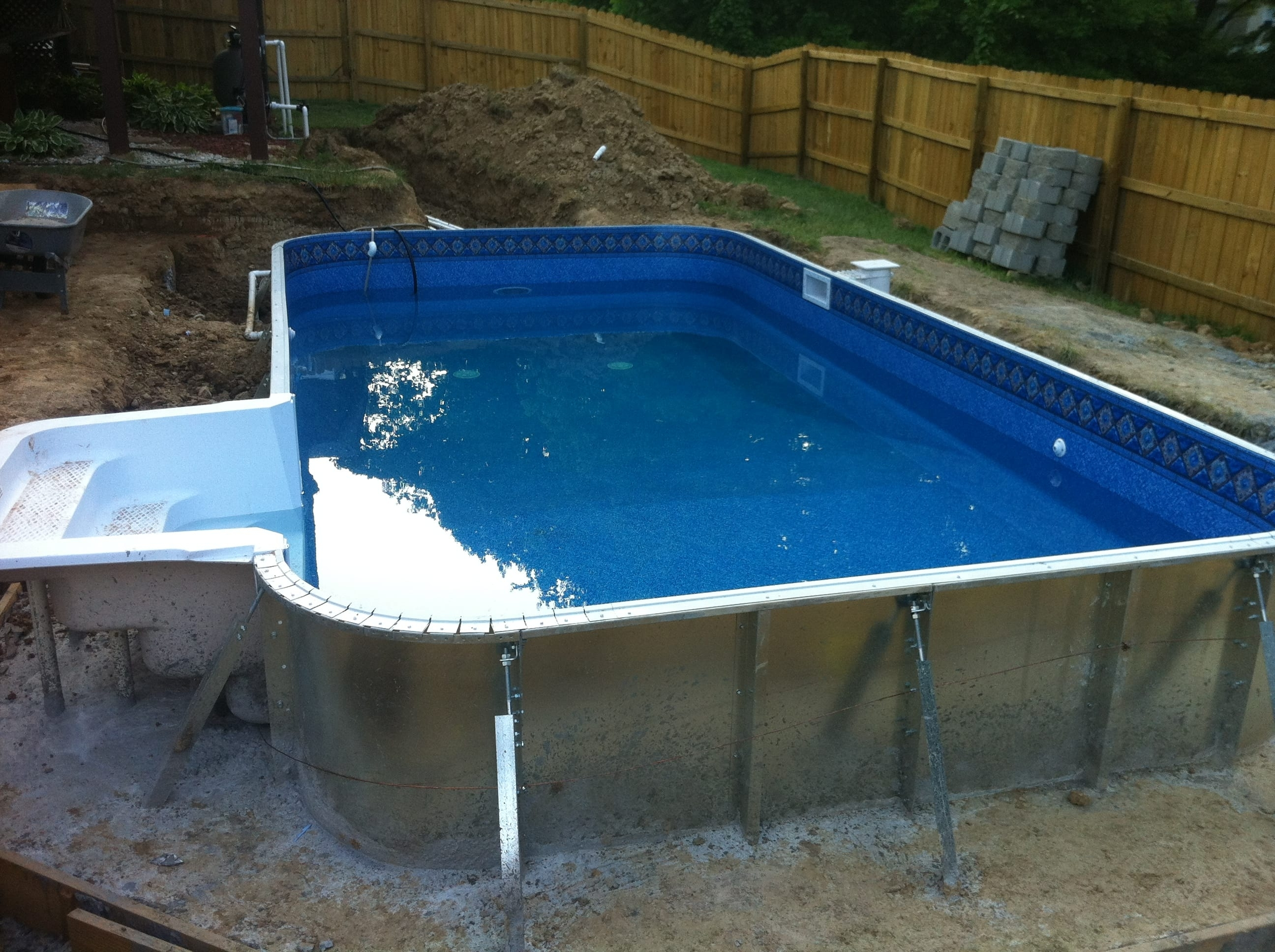 Semi Inground Pool Kits Hickory — Randolph Indoor and Outdoor Design
