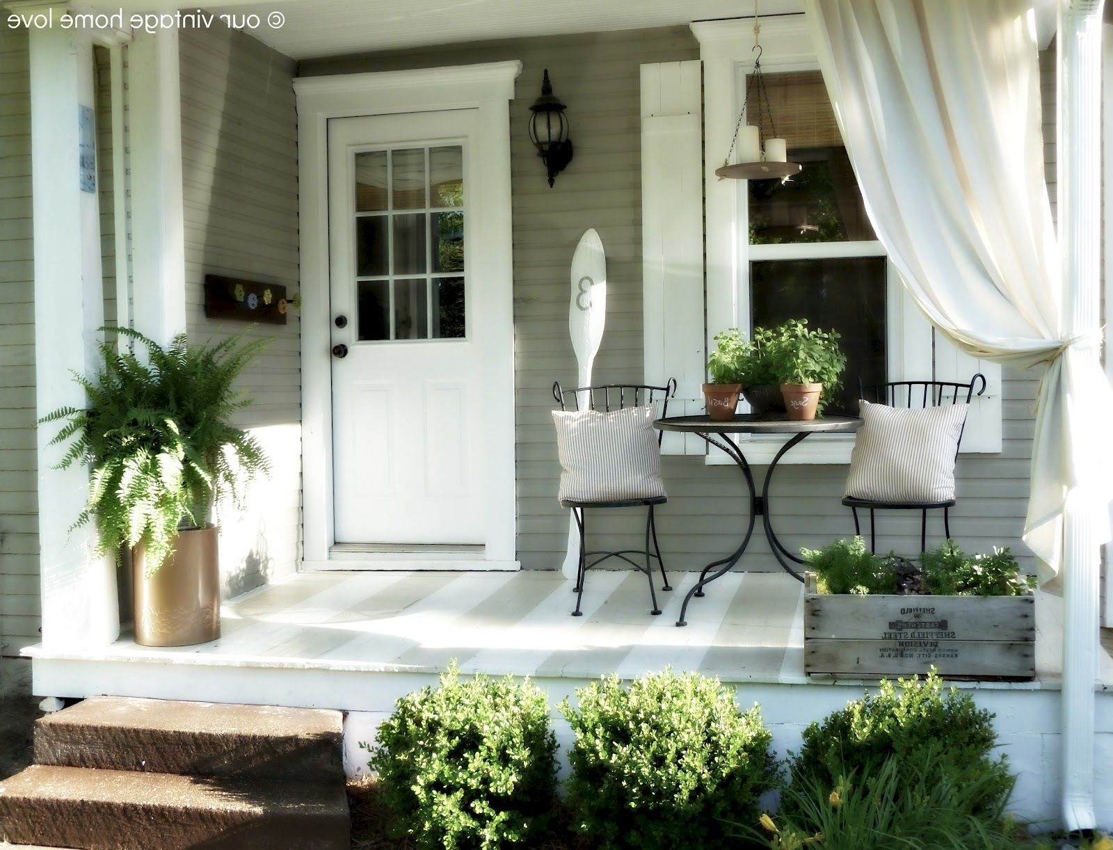 Simple Front Porch Ideas For Small Houses — Randolph Indoor and