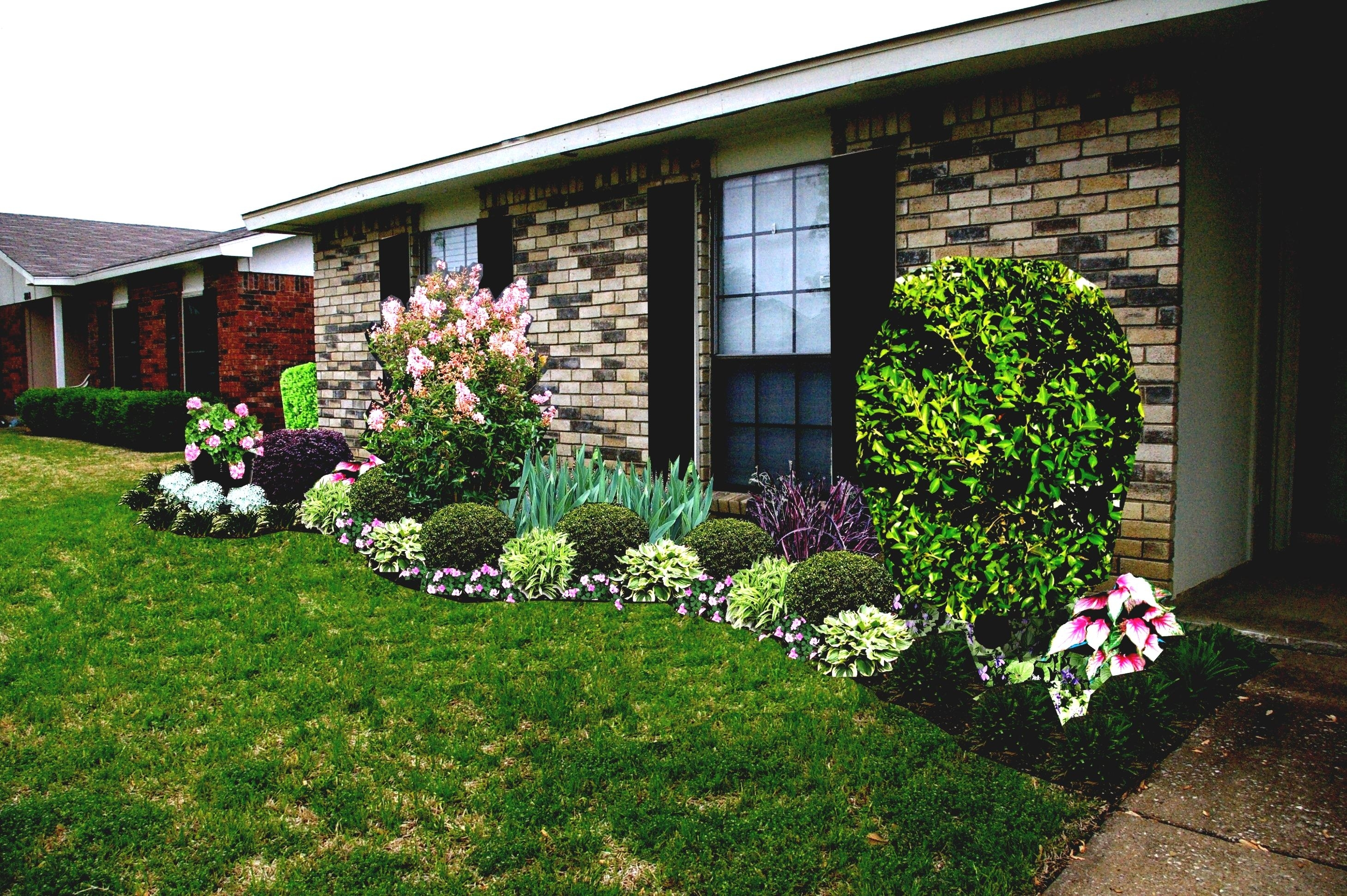 Simple Front Yard Landscaping Ideas For Ranch Style Homes ...