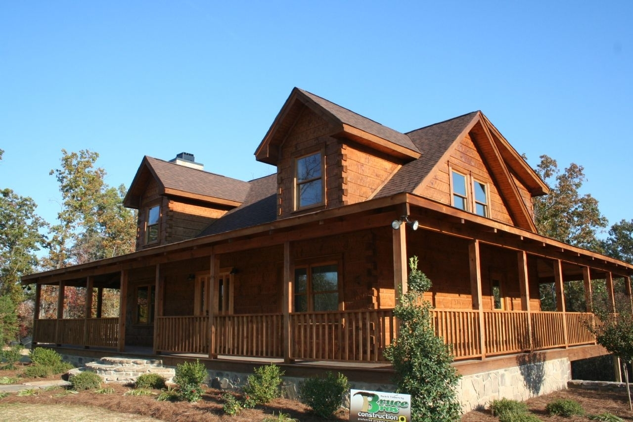 gorgeous log home with wrap around porch home distinctive log cabin with wrap around porch randolph indoor and outdoor design 9124