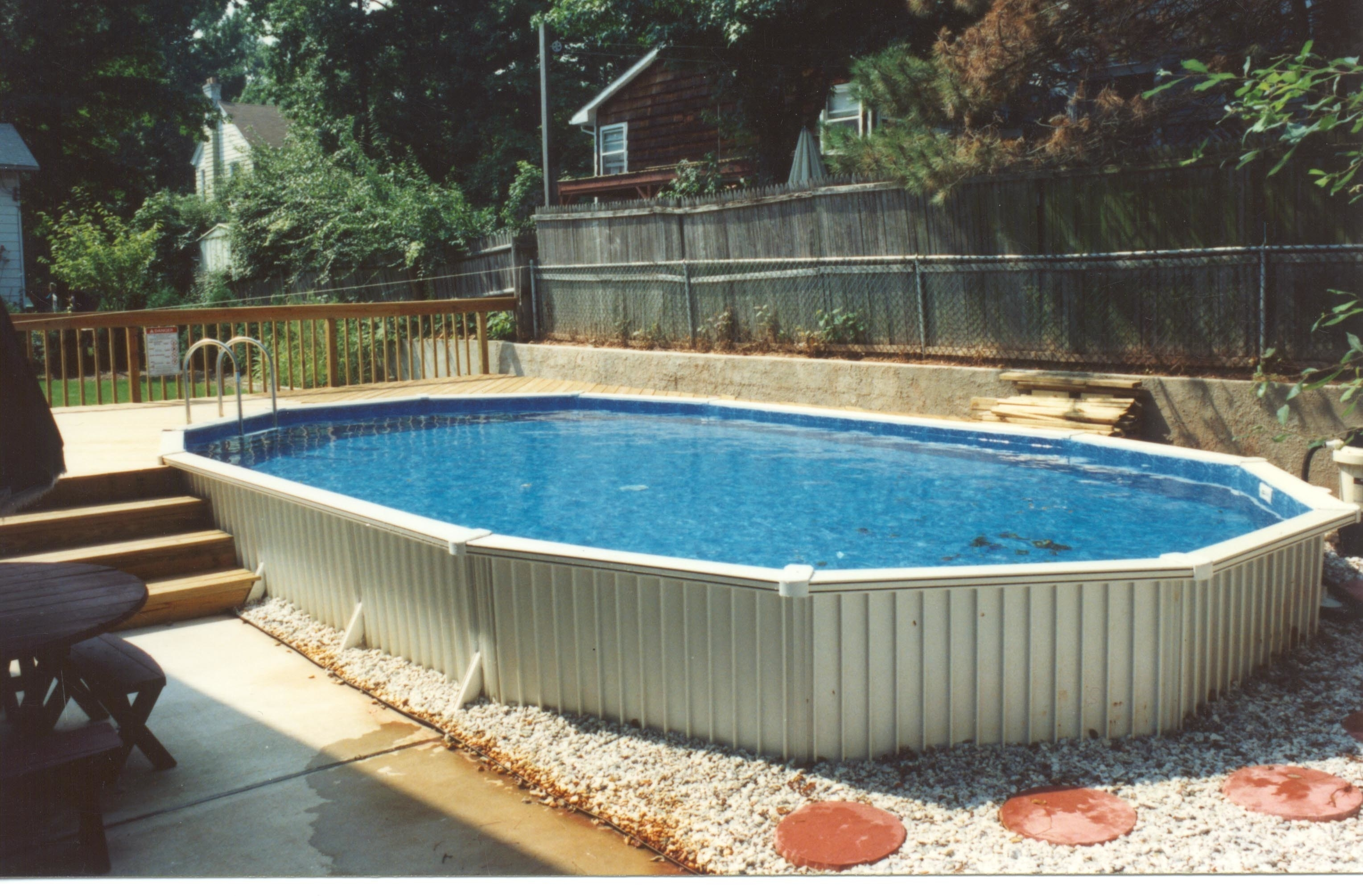 Fascinating Semi Inground Pool Kits Randolph Indoor And