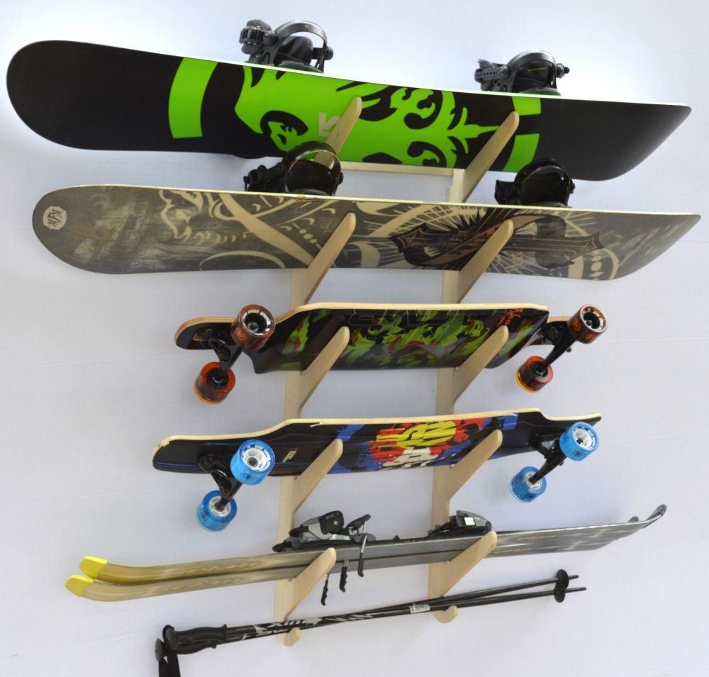 Snowboard Storage Rack