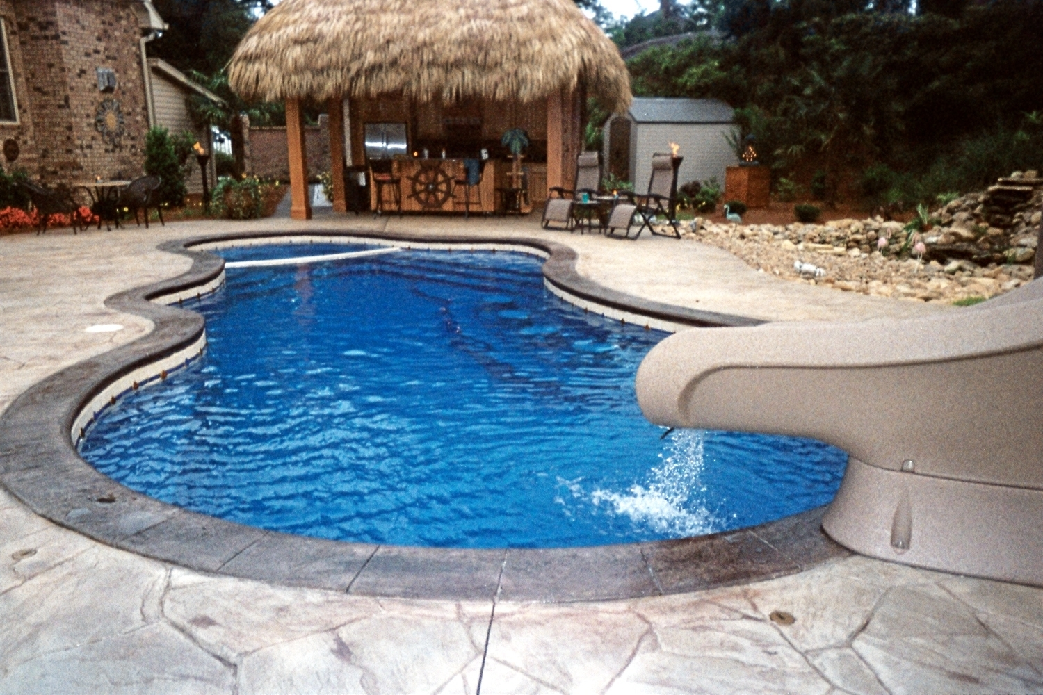 Tropical Semi Inground Pool Kits Randolph Indoor And