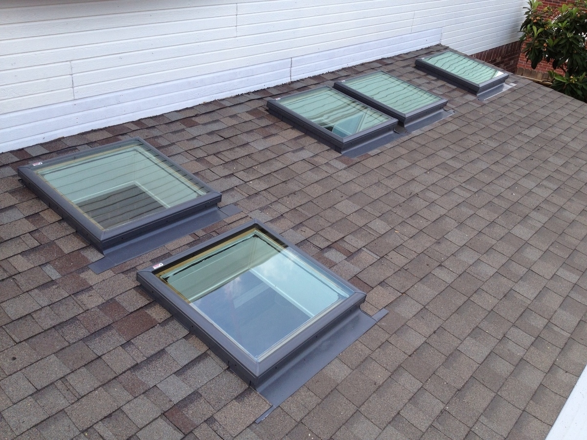 Homemade Curb Mounted Skylight Randolph Indoor And