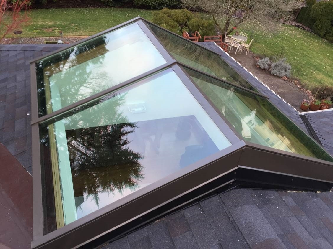 Homemade Curb Mounted Skylight Randolph Indoor And Outdoor Design