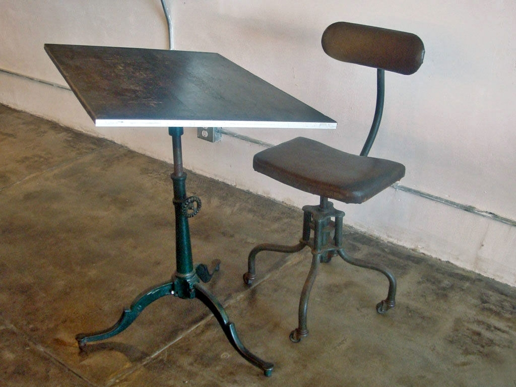 Swell Vintage Industrial Drafting Stool Randolph Indoor And Alphanode Cool Chair Designs And Ideas Alphanodeonline