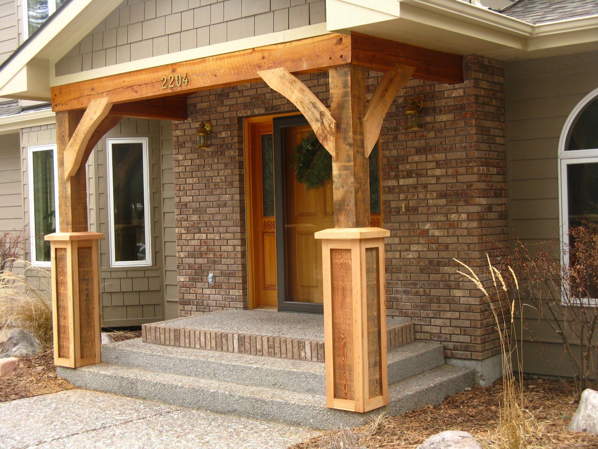 Stone Pillars Front Porch Randolph Indoor And Outdoor Design