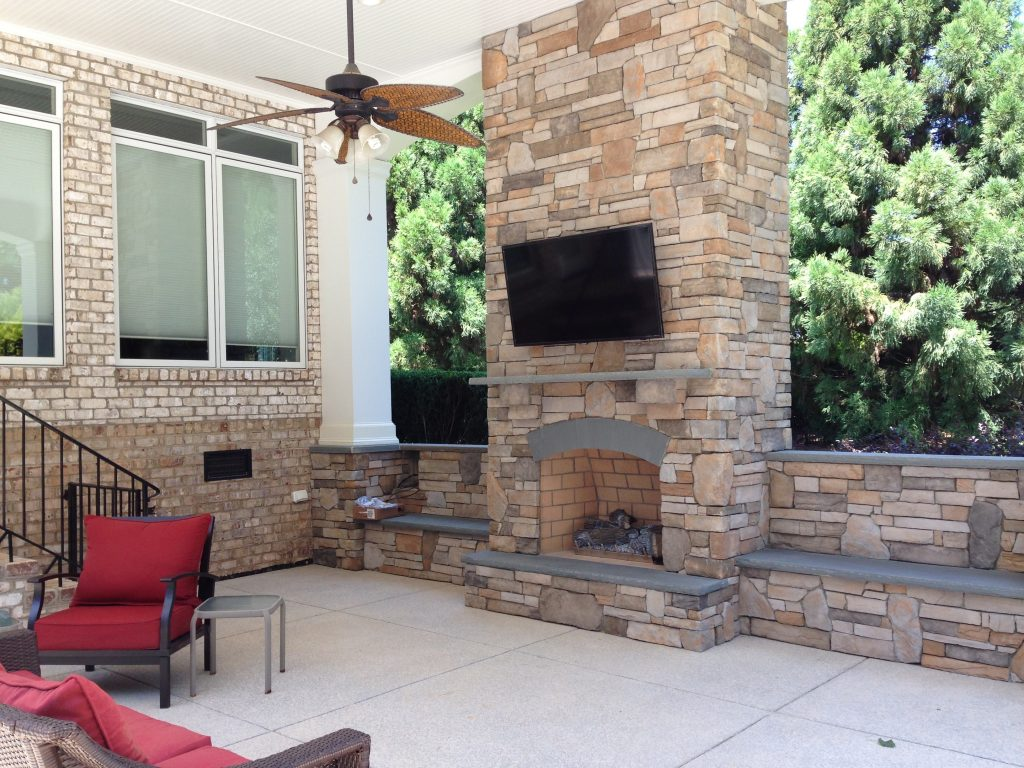 Wreath For Stone Outdoor Fireplace Randolph Indoor And